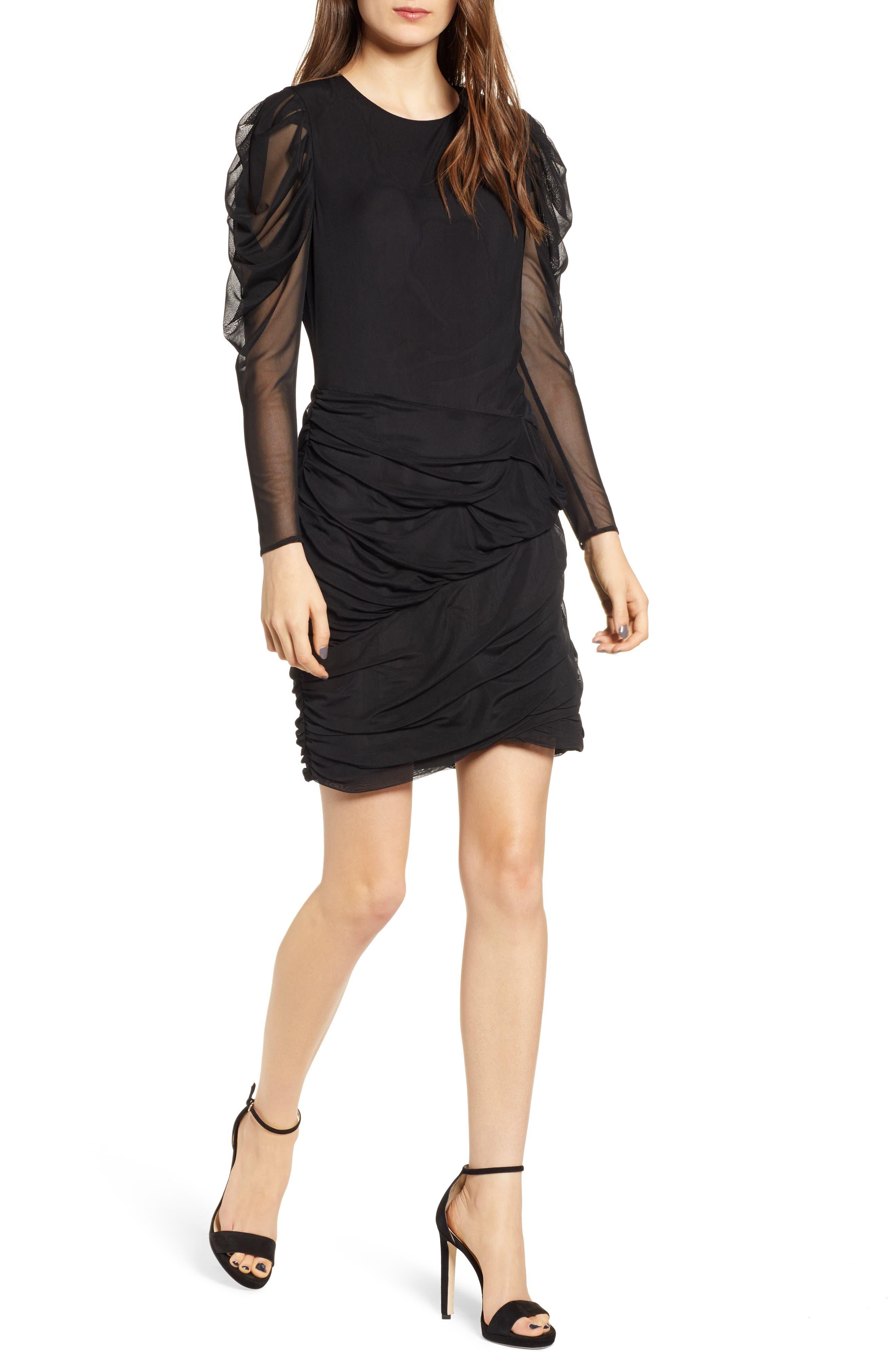 Rebecca Minkoff Sofia Dress, Black