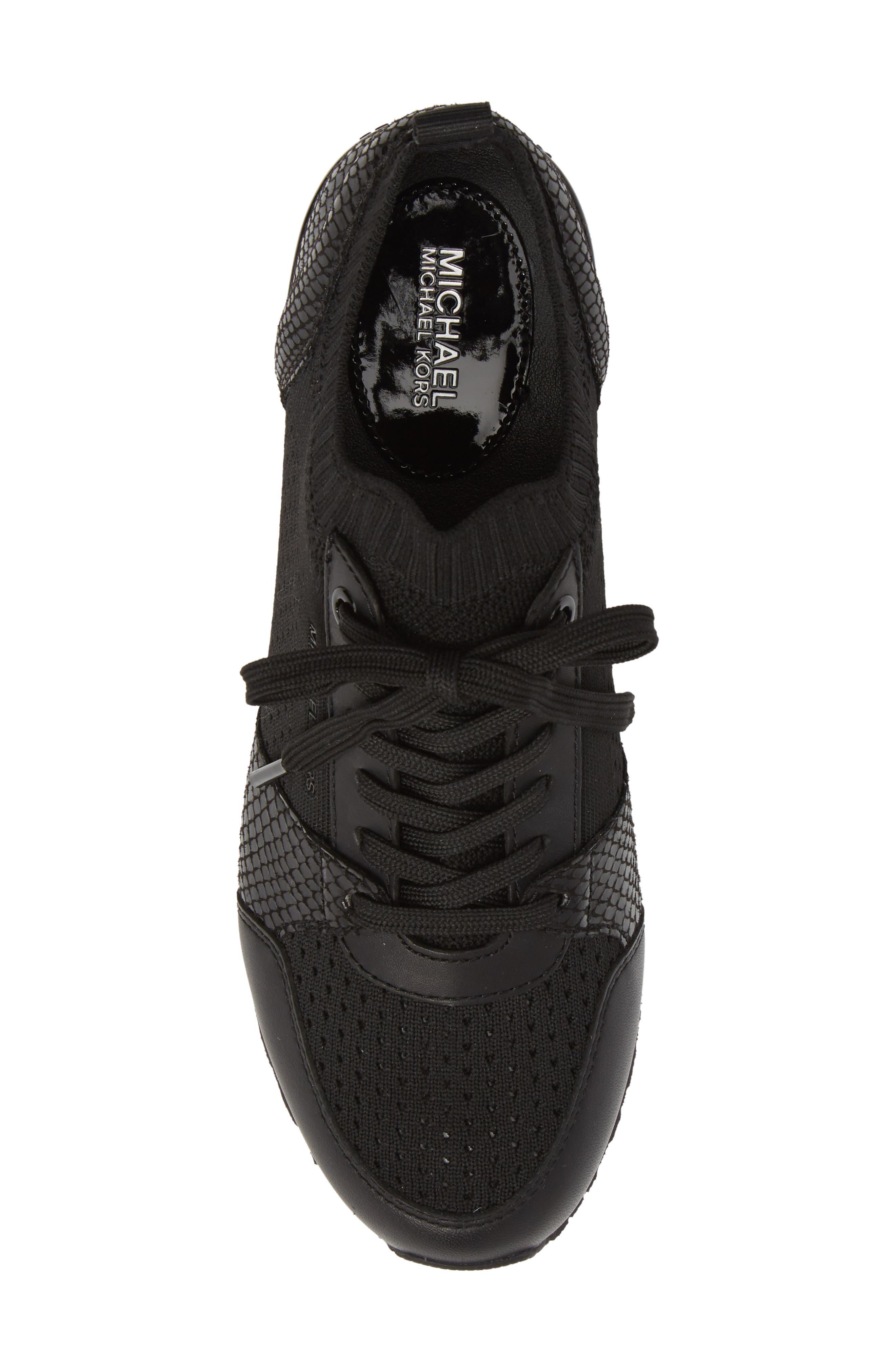 Billie Perforated Sneaker,                             Alternate thumbnail 5, color,                             002