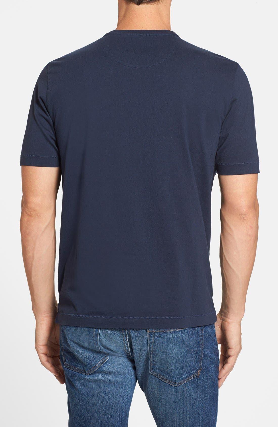 New Bali Sky Pima Cotton Pocket T-Shirt,                             Alternate thumbnail 89, color,