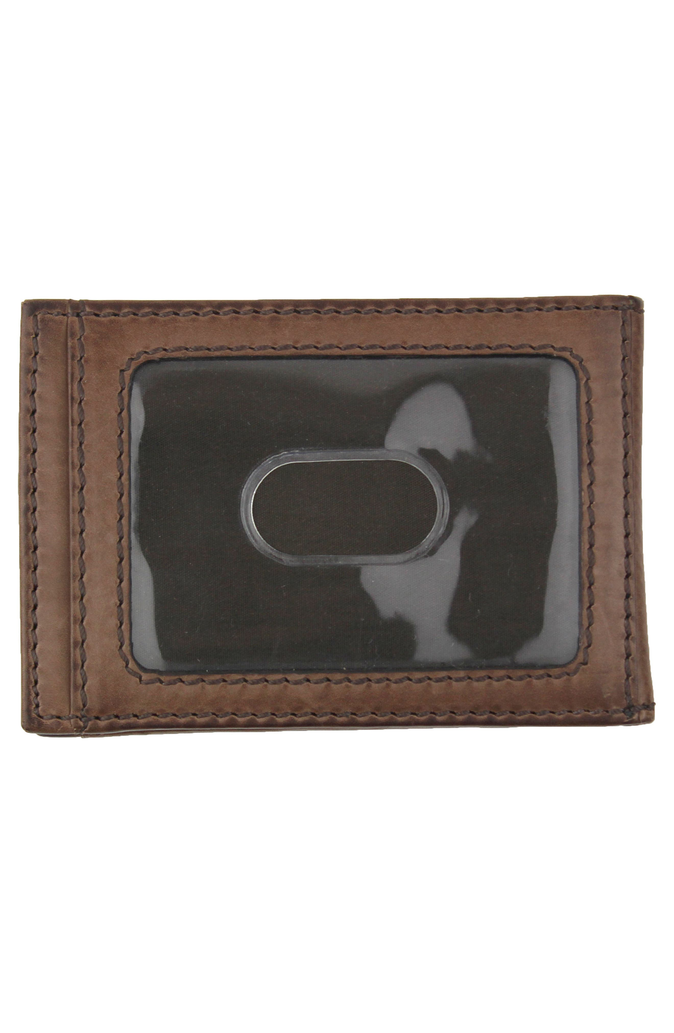 Legacy Leather Card Case with Money Clip,                             Alternate thumbnail 2, color,                             200