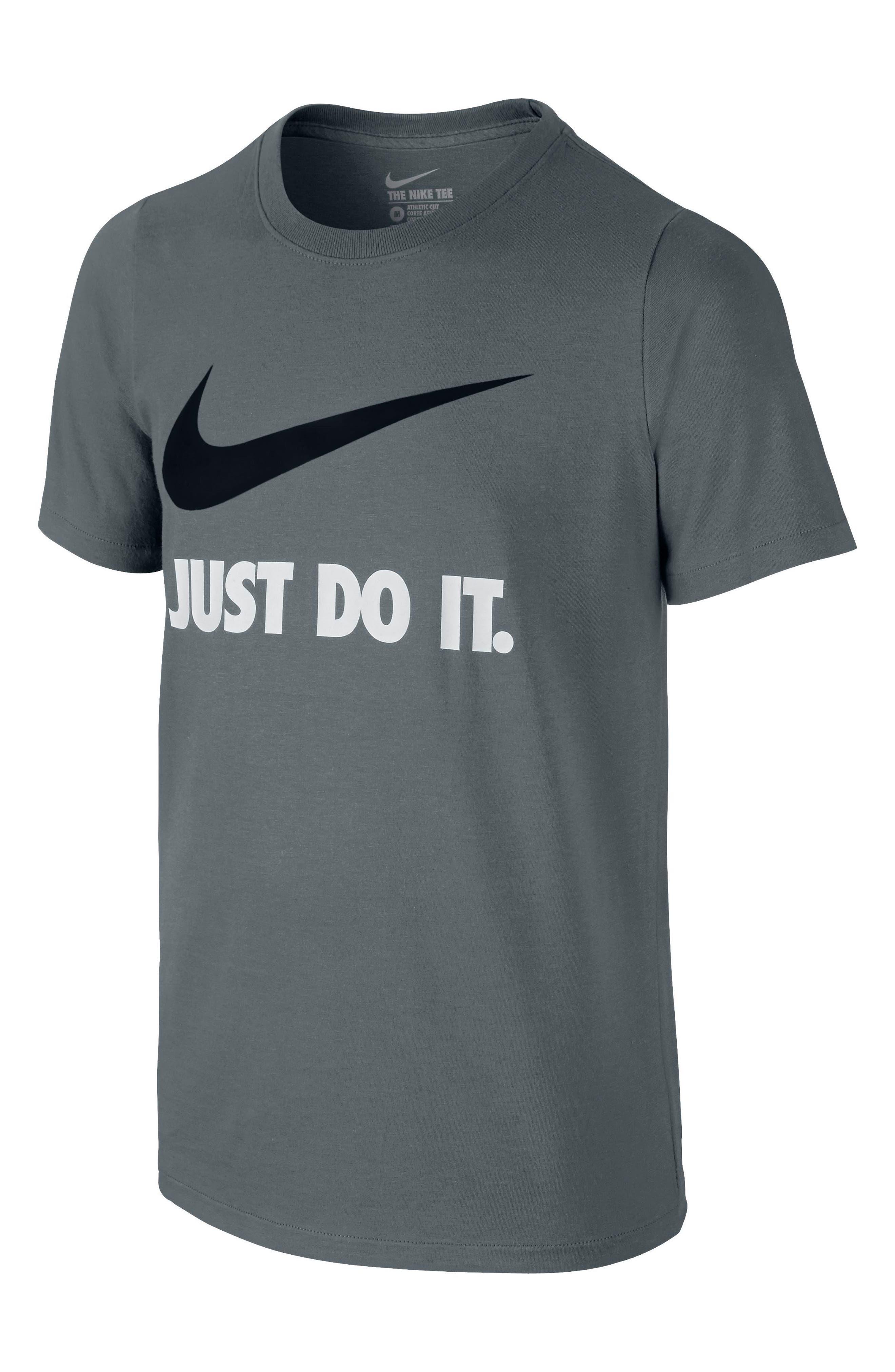 Just Do It Cotton T-Shirt,                             Alternate thumbnail 2, color,                             063