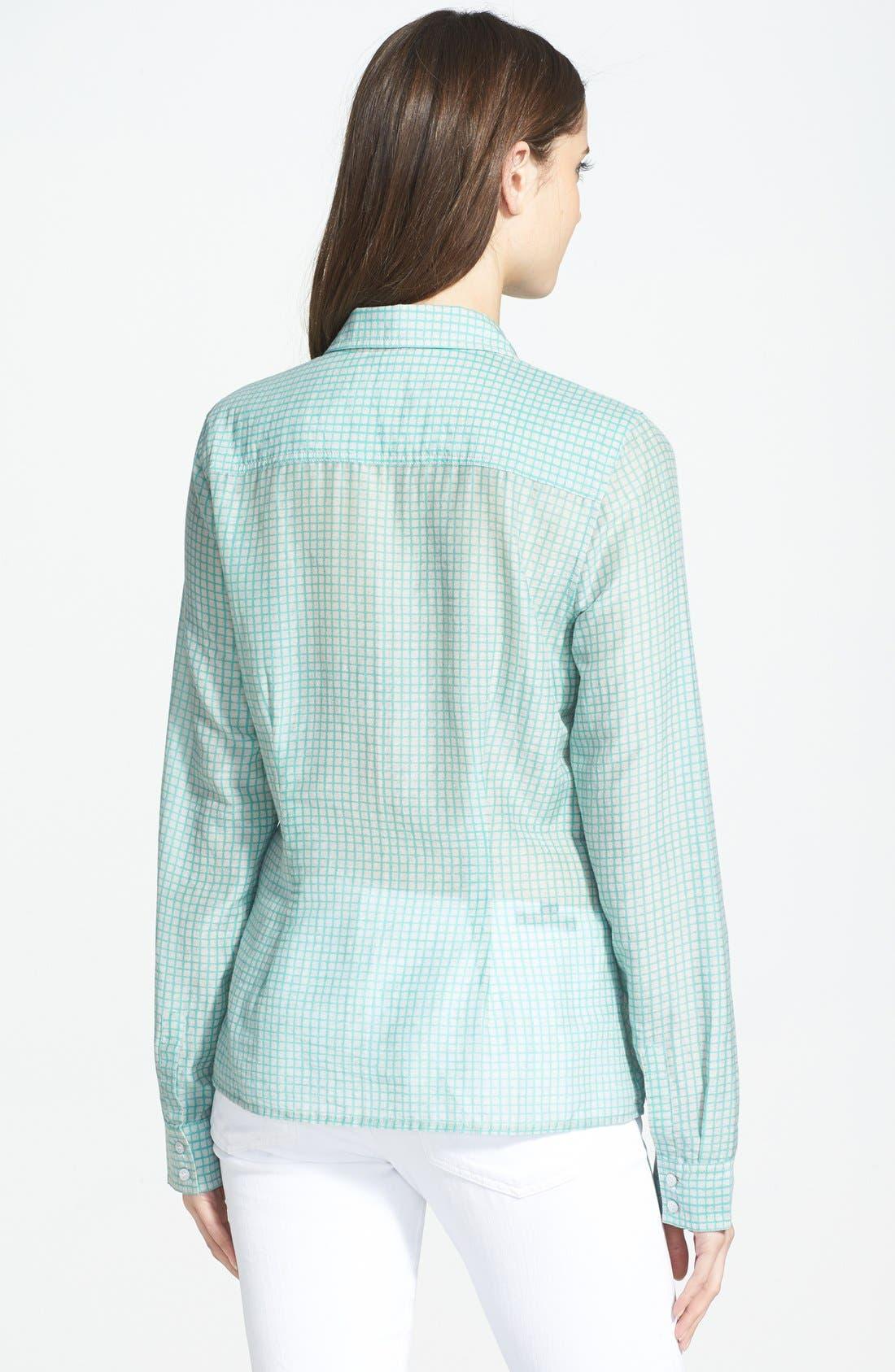 Cotton & Silk Shirt,                             Alternate thumbnail 54, color,