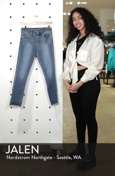 Carly Ankle Skinny Jeans, sales video thumbnail