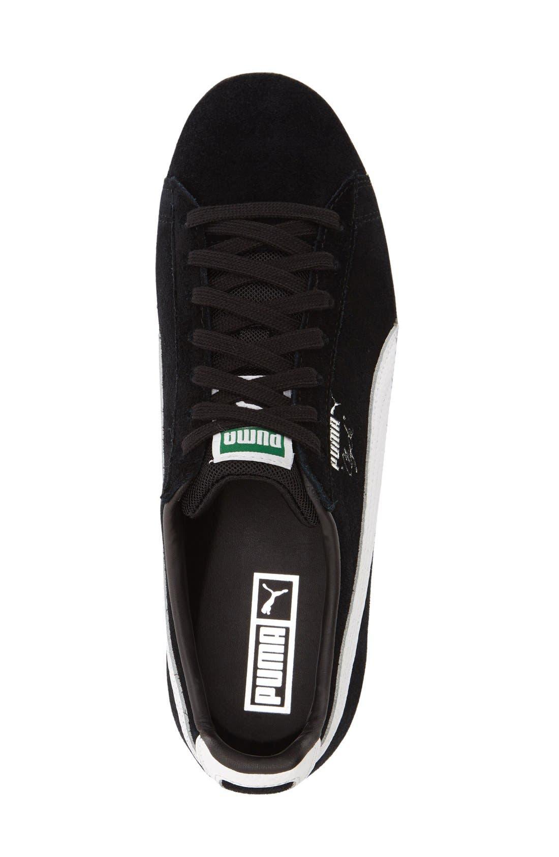 'Clyde B&C' Sneaker,                             Alternate thumbnail 3, color,                             001