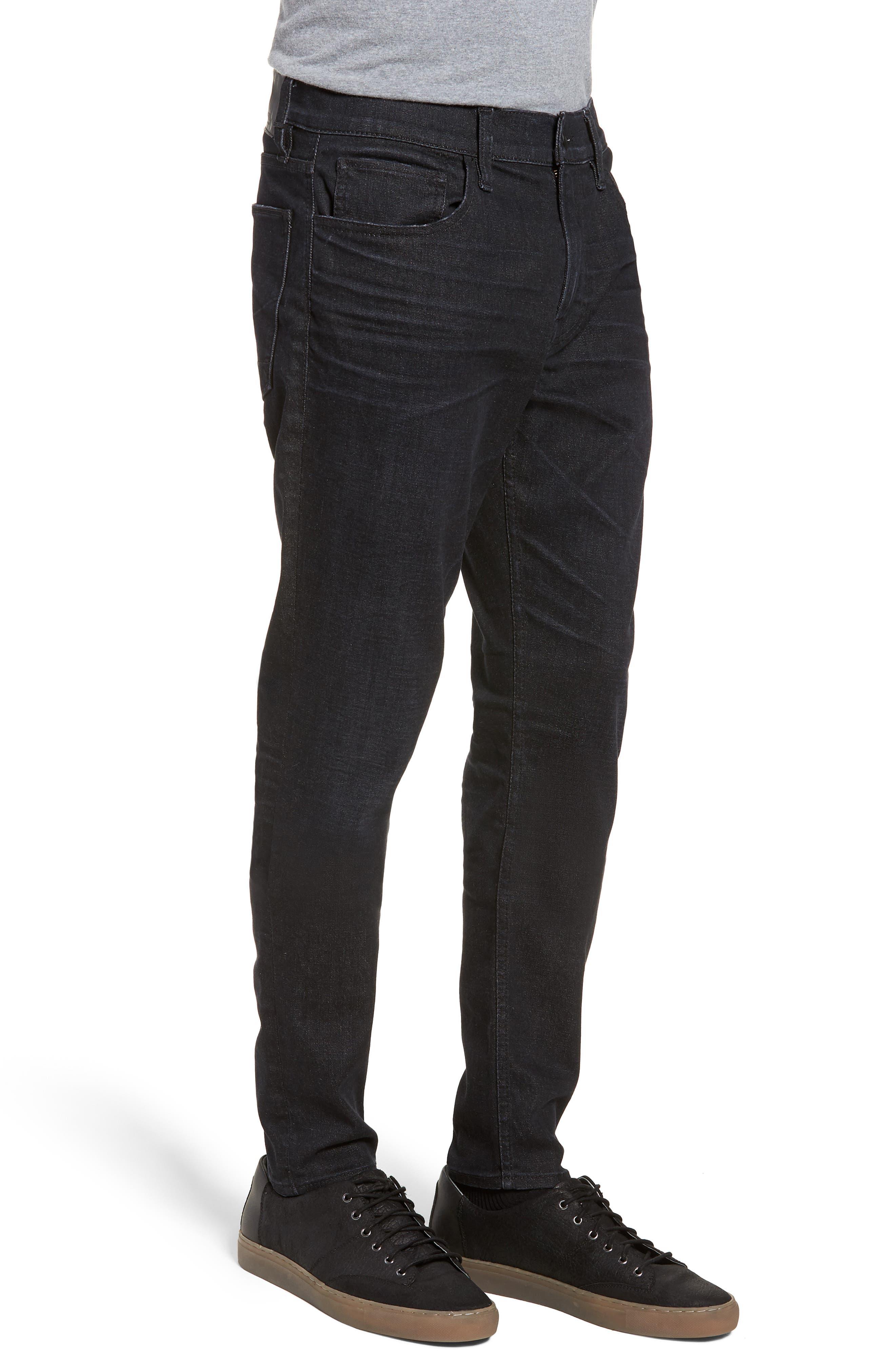 Byron Straight Leg Jeans,                             Alternate thumbnail 3, color,                             BENFIELD