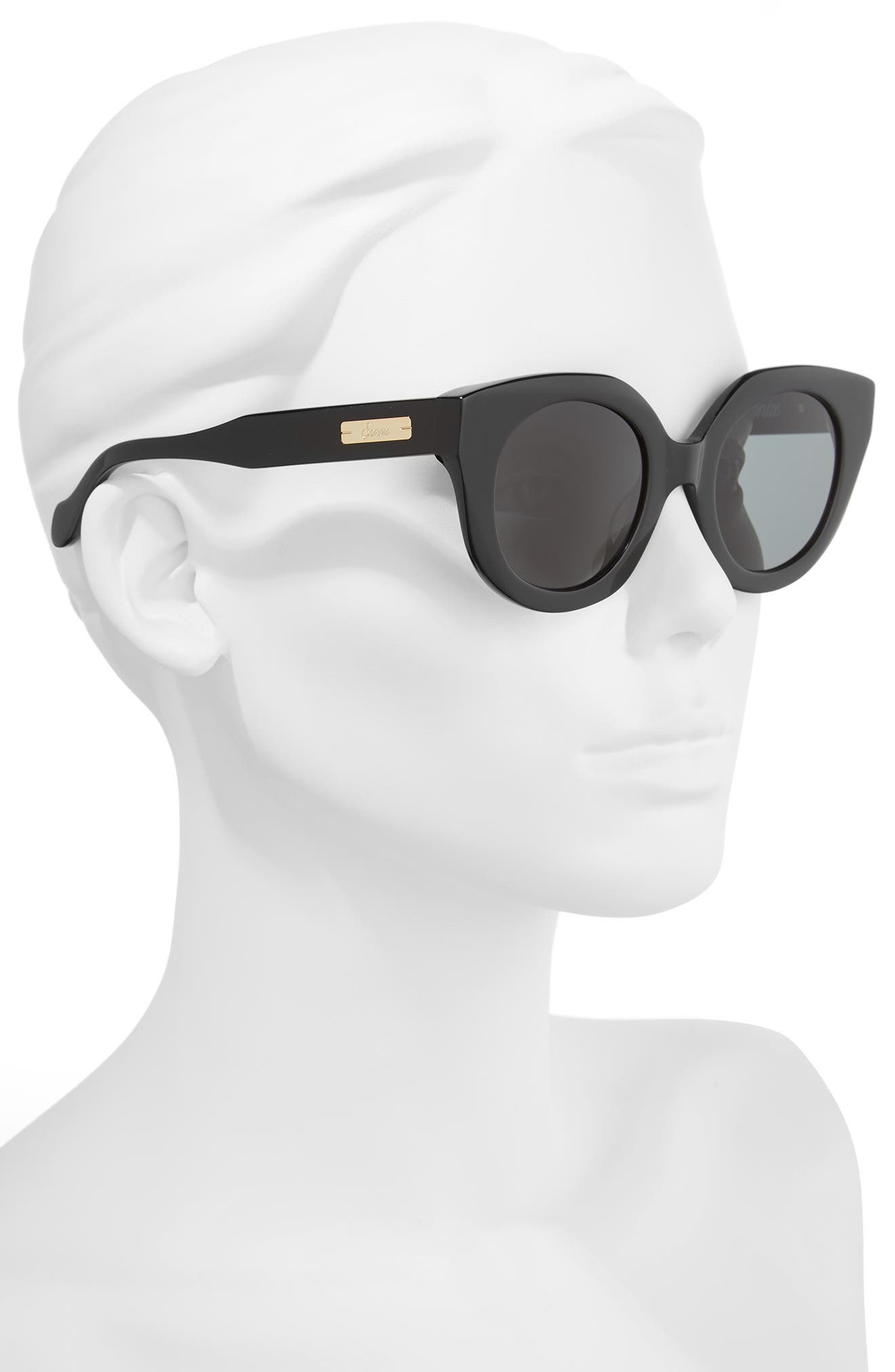 Penny 48mm Cat Eye Sunglasses,                             Alternate thumbnail 2, color,                             001