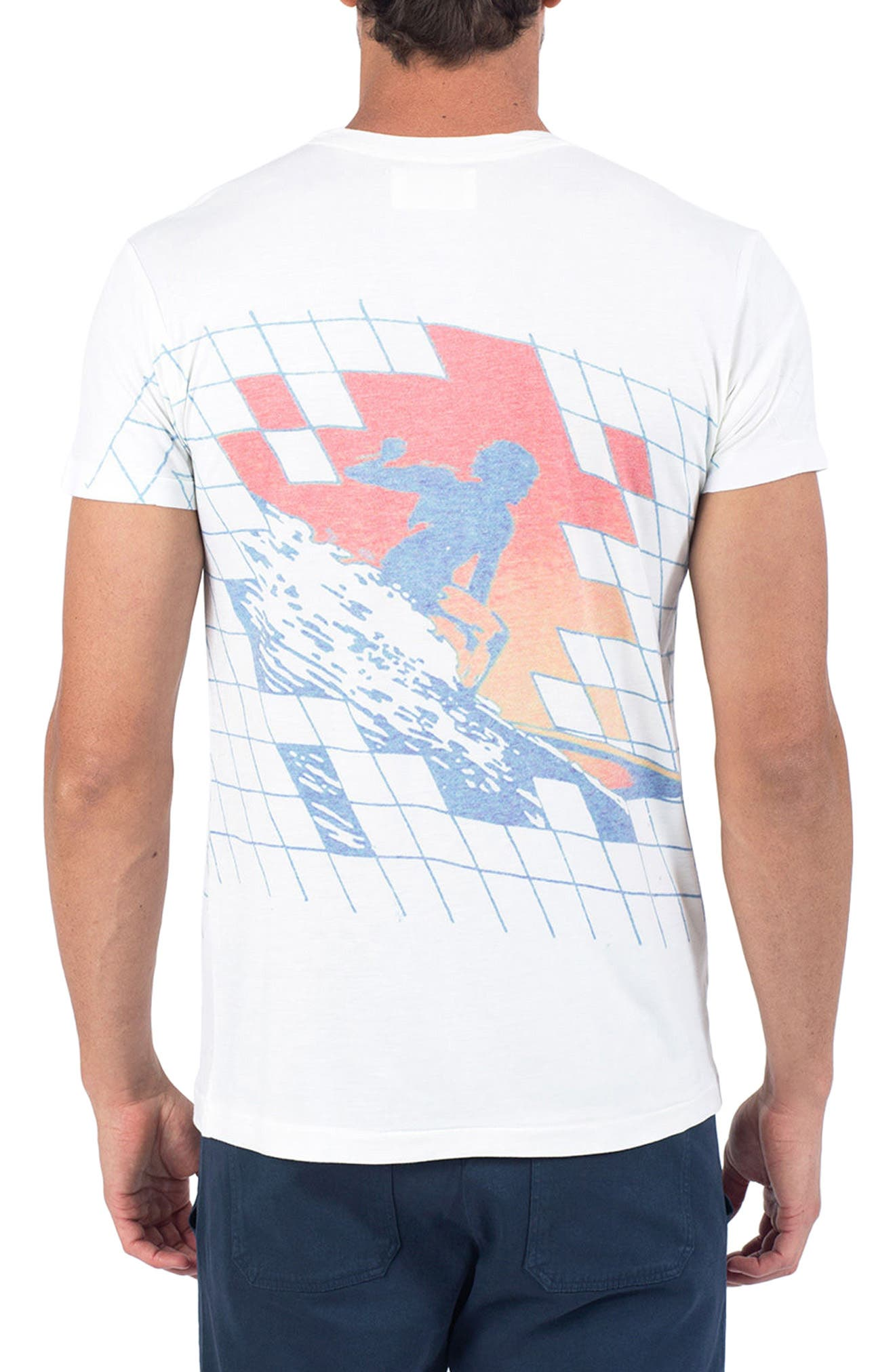 Gridlock T-Shirt,                             Alternate thumbnail 2, color,                             100