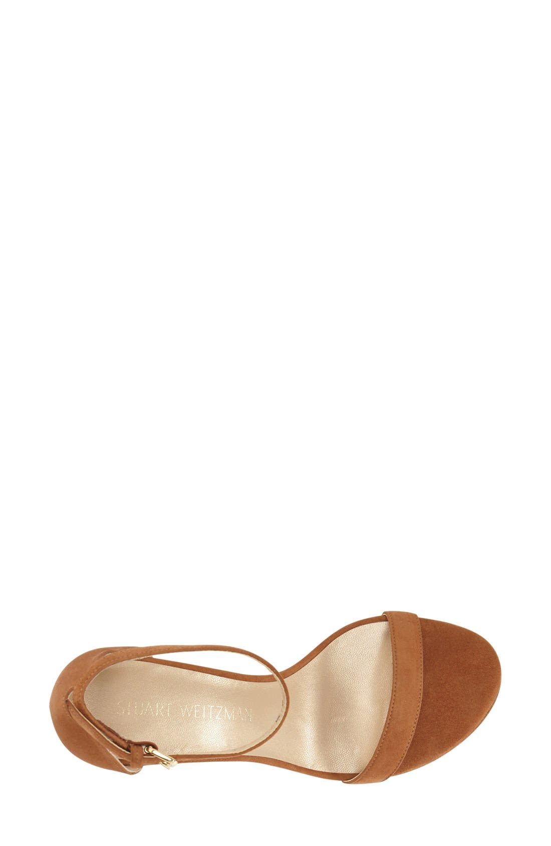 NearlyNude Ankle Strap Sandal,                             Alternate thumbnail 71, color,