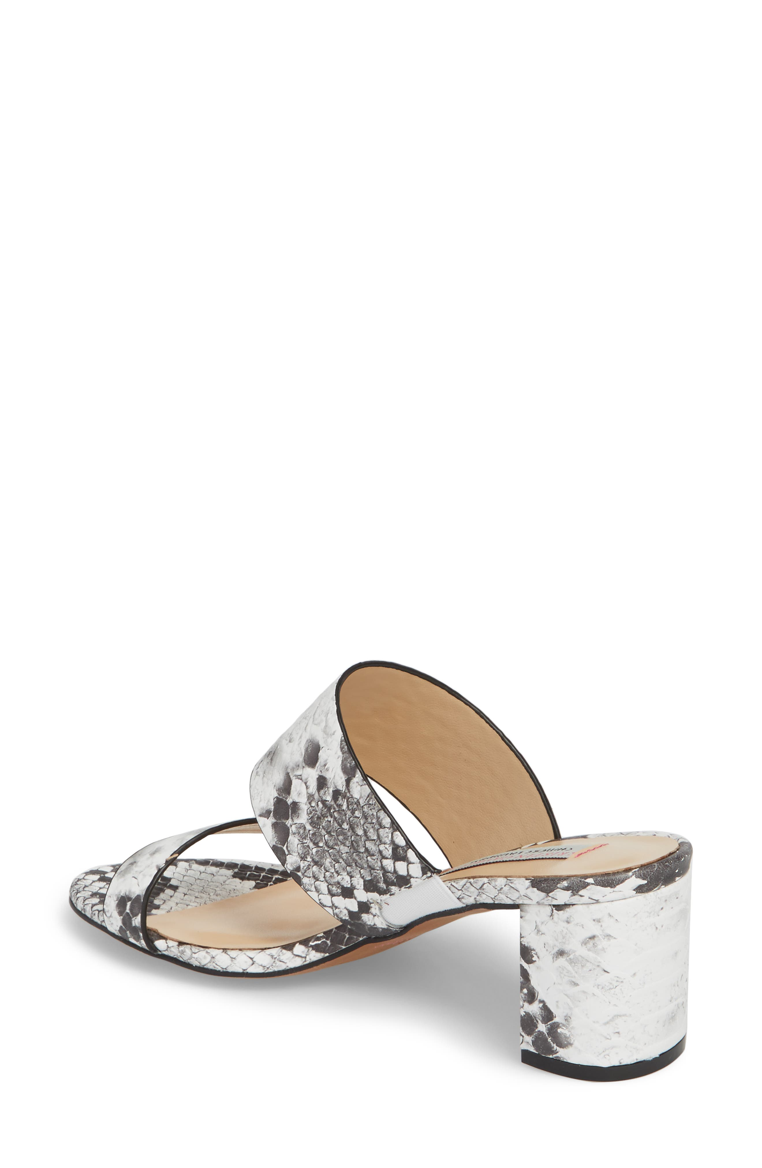 Lakeview Sandal,                             Alternate thumbnail 2, color,                             GREY/ WHITE PRINT LEATHER