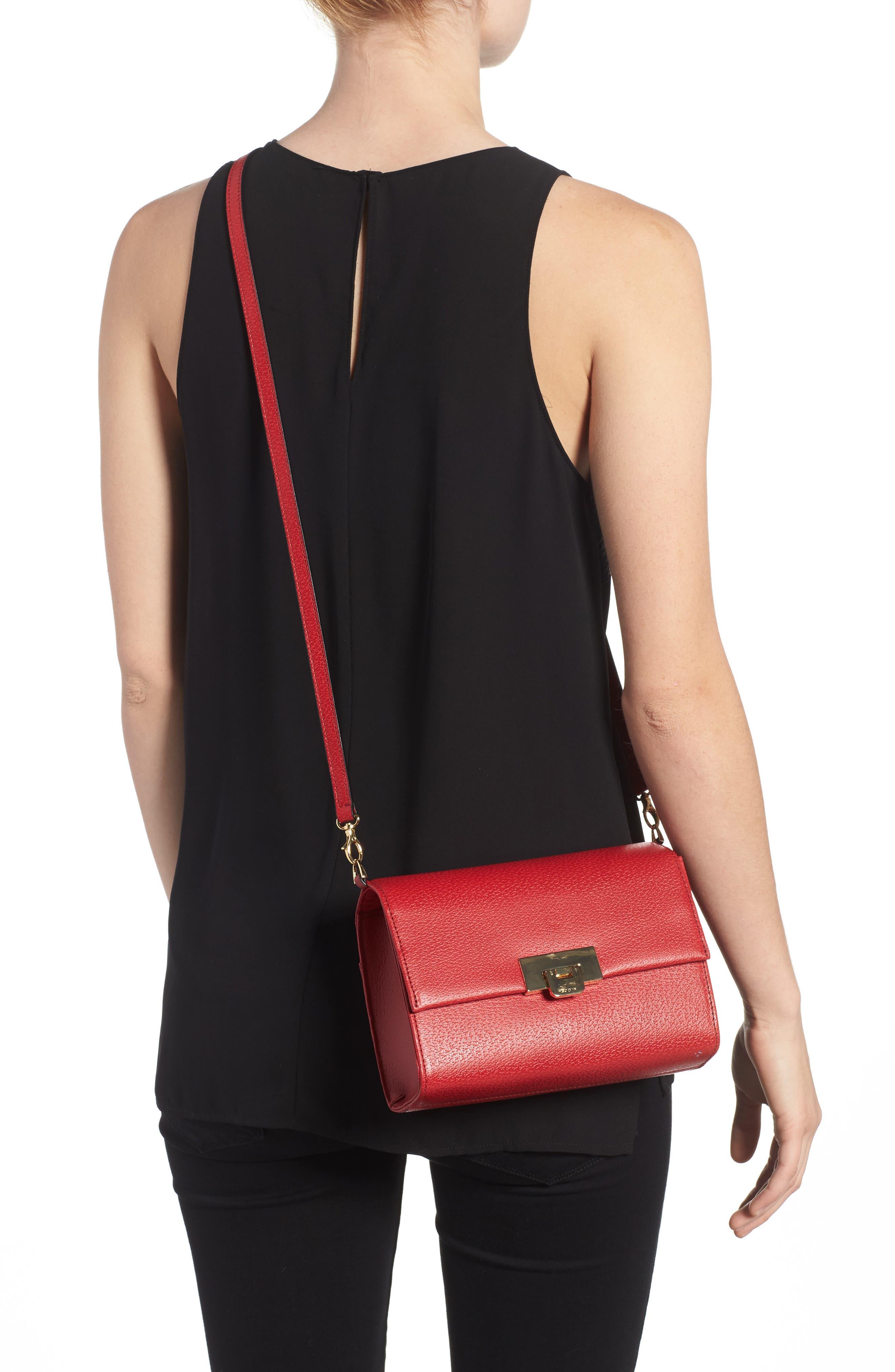 LODIS Stephanie Under Lock & Key - Small Eden Leather Crossbody Bag,                             Alternate thumbnail 2, color,                             600