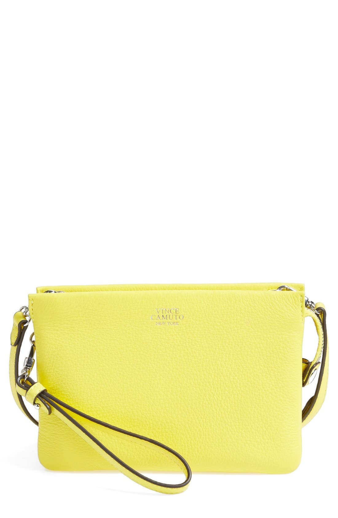 'Cami' Leather Crossbody Bag,                             Main thumbnail 29, color,