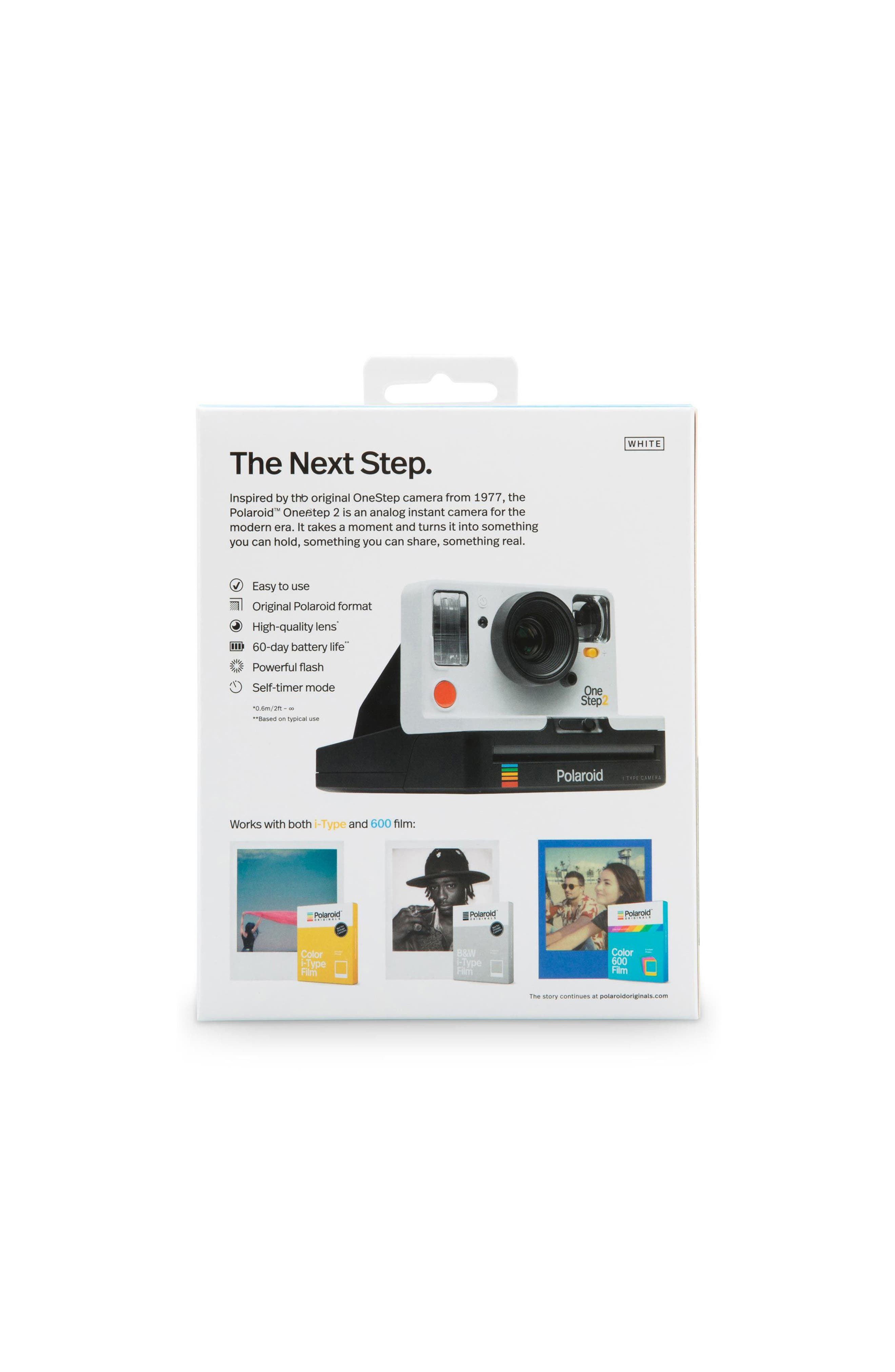 OneStep 2 Instant Camera,                             Alternate thumbnail 5, color,                             WHITE