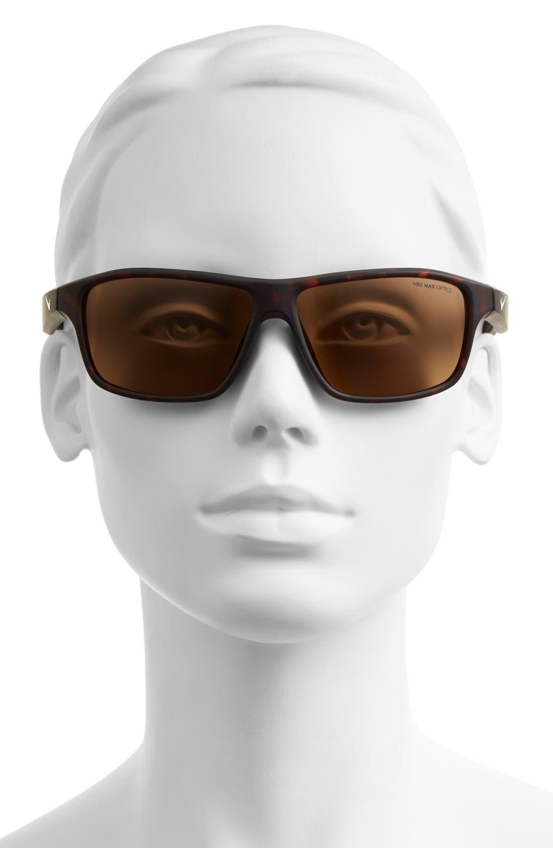 59mm 'Premier 6.0' Performance Sunglasses,                             Alternate thumbnail 2, color,                             MATTE TORTOISE