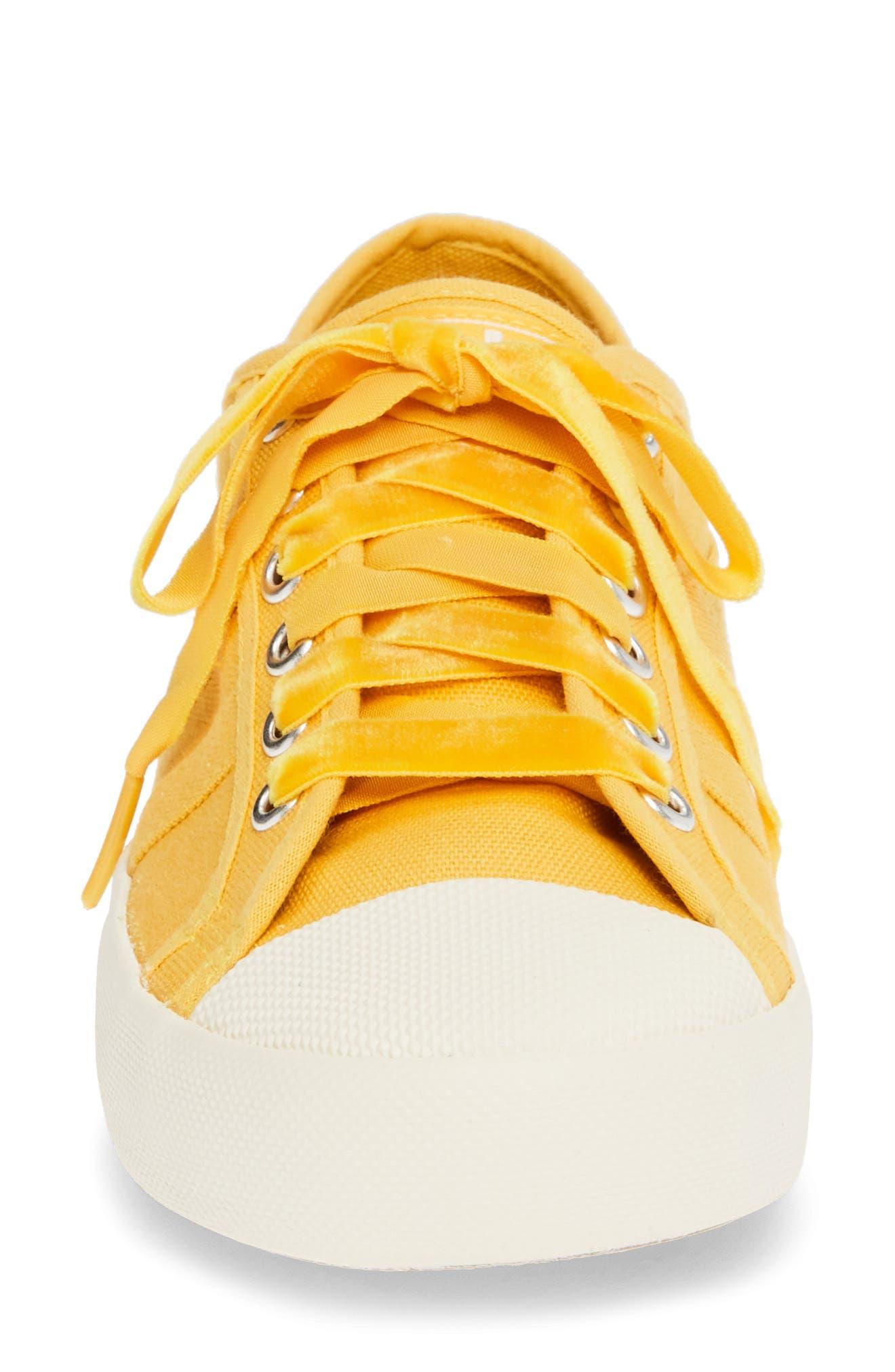 Coaster Sneaker,                             Alternate thumbnail 4, color,                             SUN/ OFF WHITE
