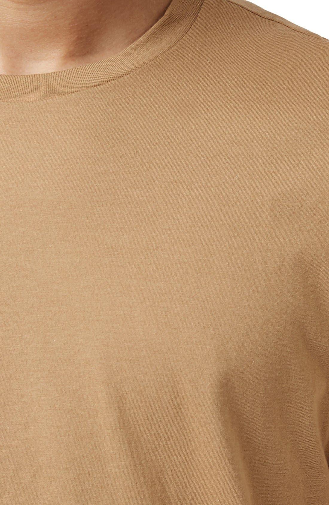 Slim Fit Crewneck T-Shirt,                             Alternate thumbnail 326, color,