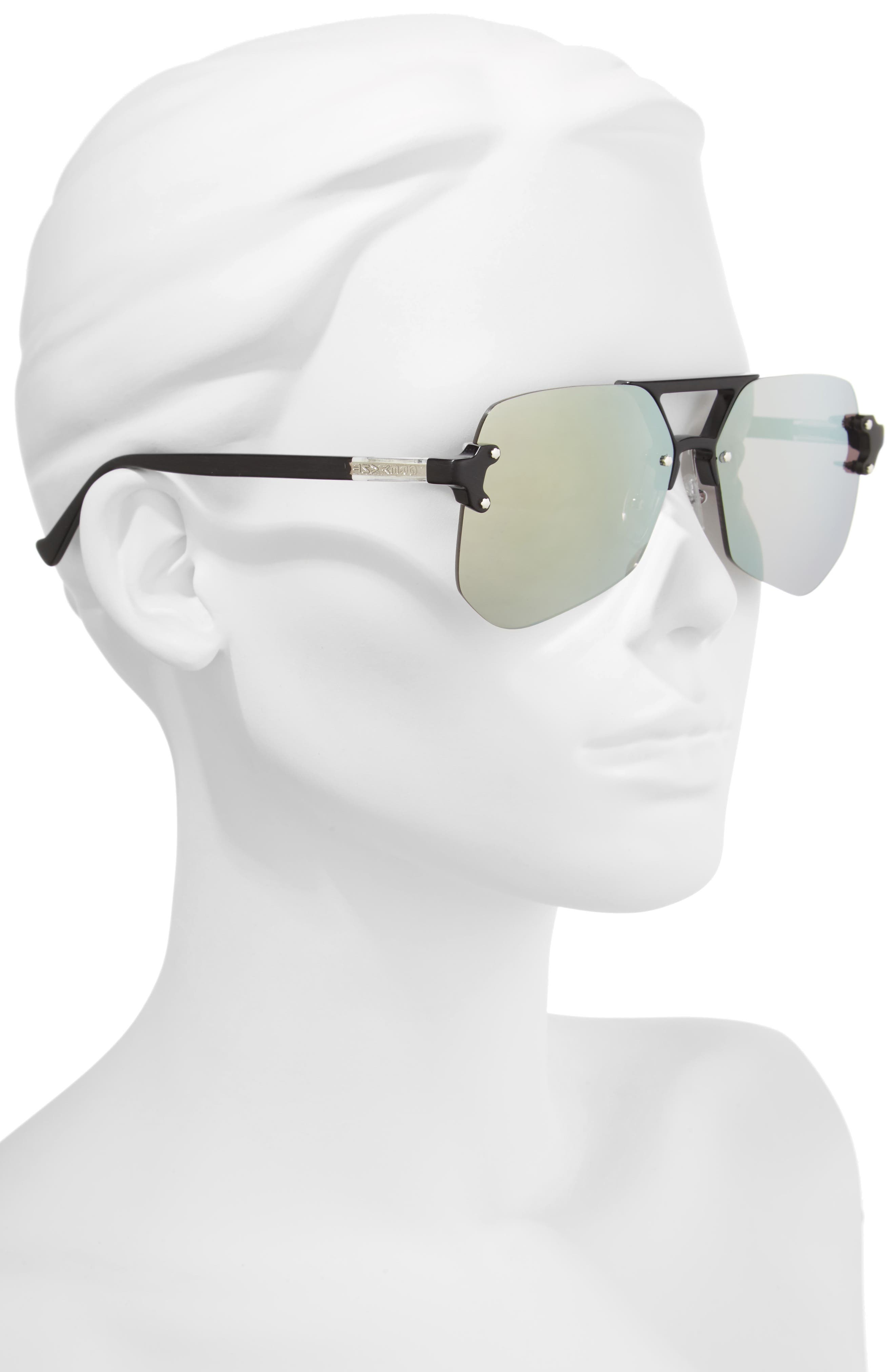 Yesway 60mm Sunglasses,                             Alternate thumbnail 2, color,                             040