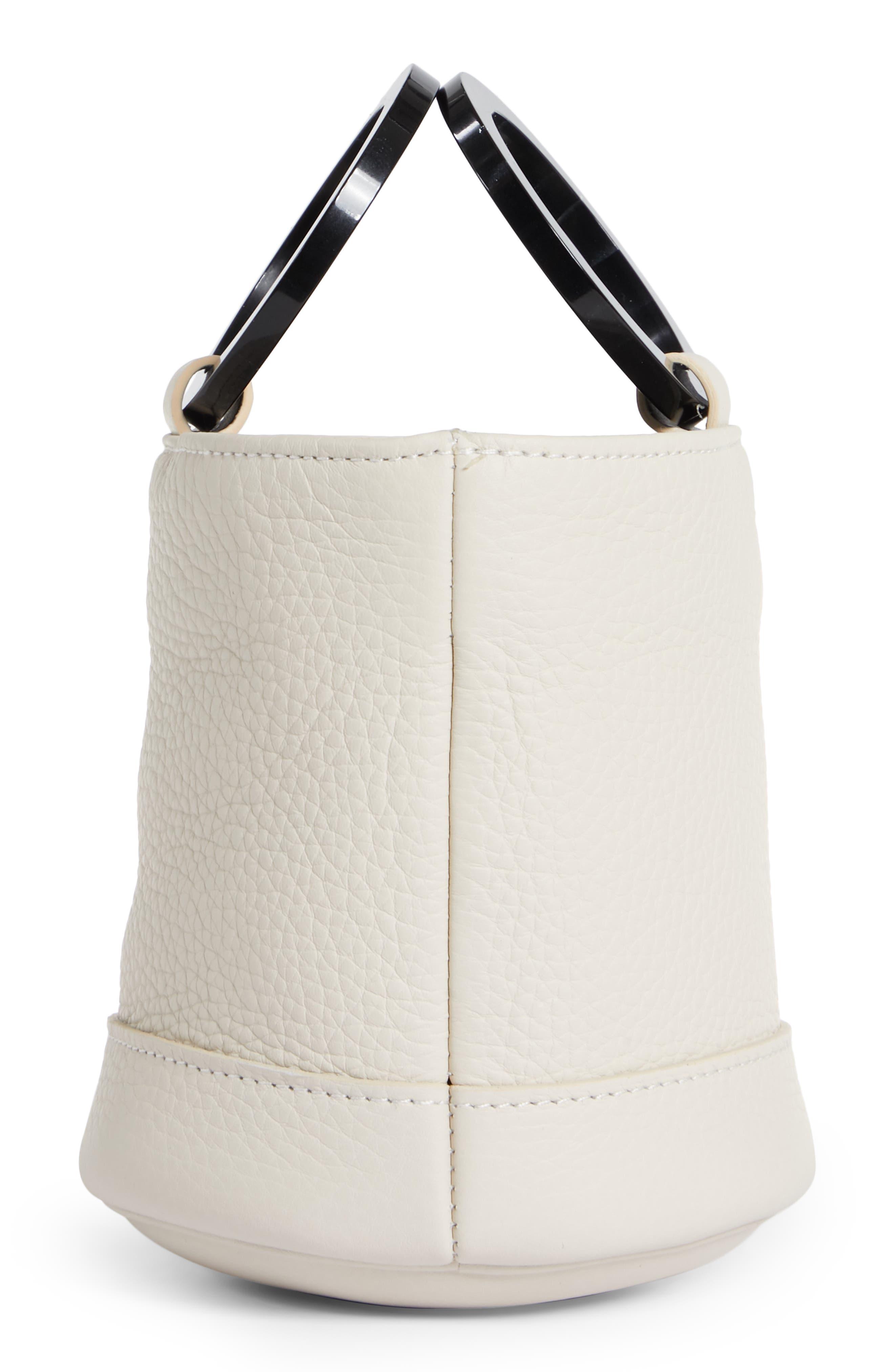 Bonsai 15 Calfskin Leather Bucket Bag,                             Alternate thumbnail 5, color,                             CLIFF