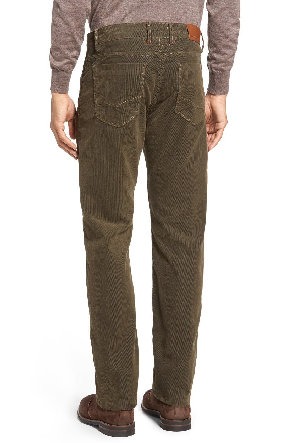 Slim Fit Corduroy Pants,                             Alternate thumbnail 9, color,