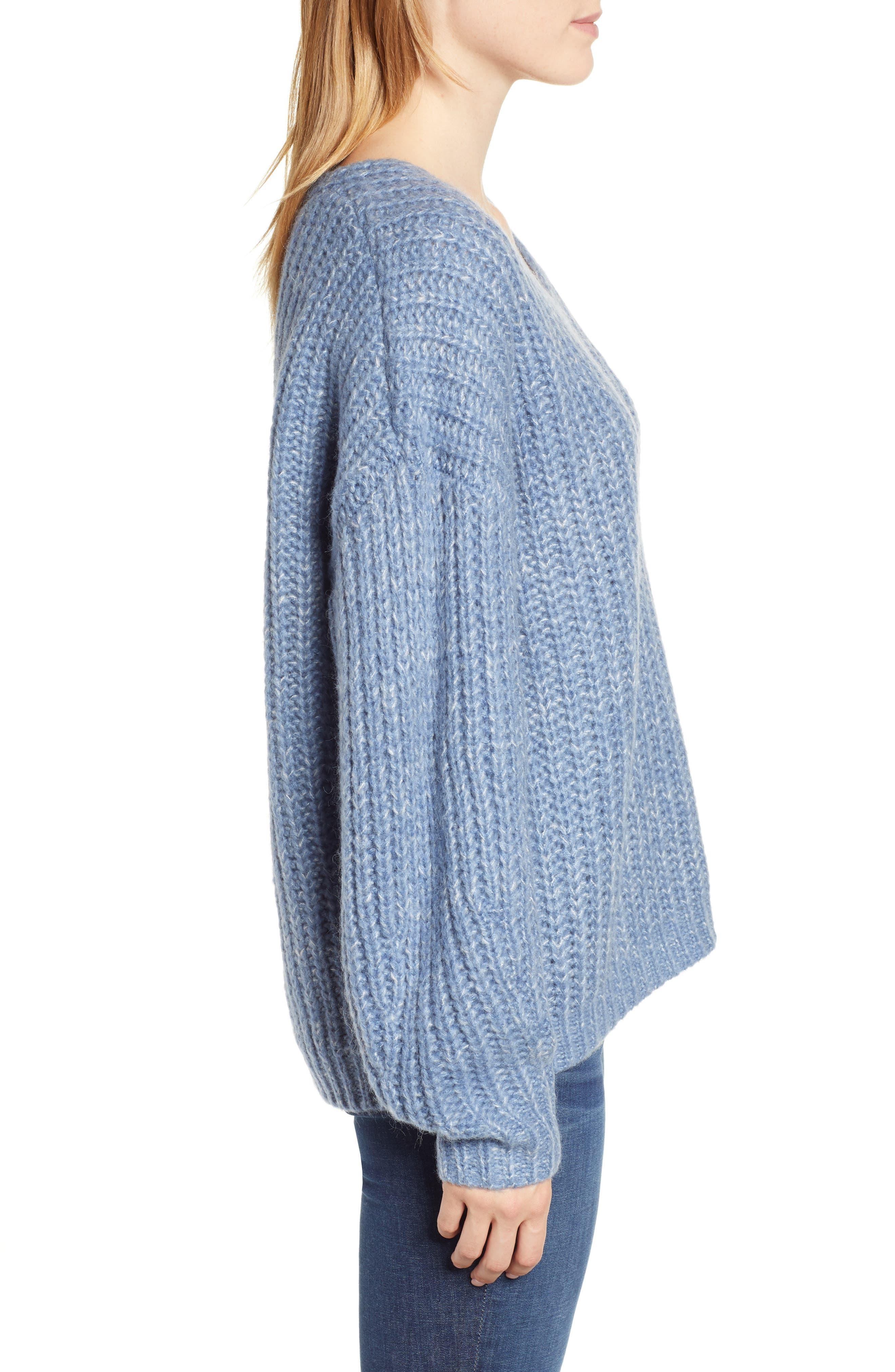 Dorit Sweater,                             Alternate thumbnail 3, color,                             BLUE