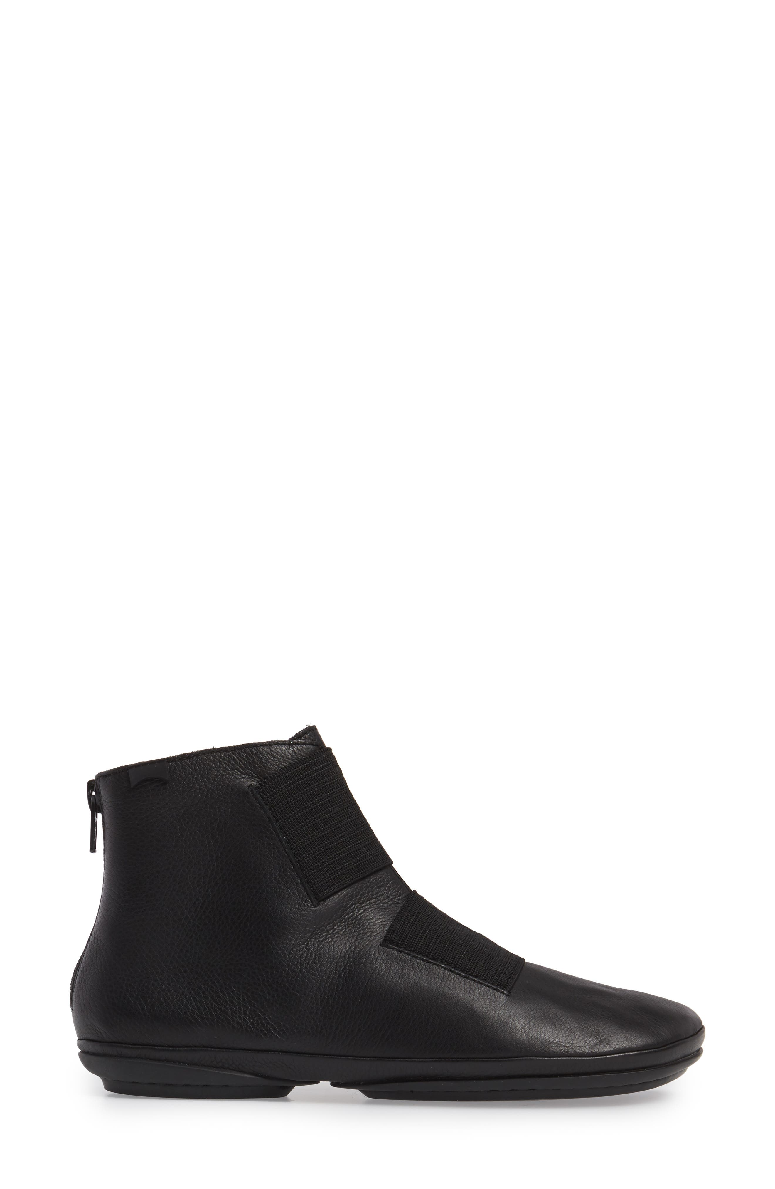 'Right Nina' Bootie,                             Alternate thumbnail 3, color,                             001