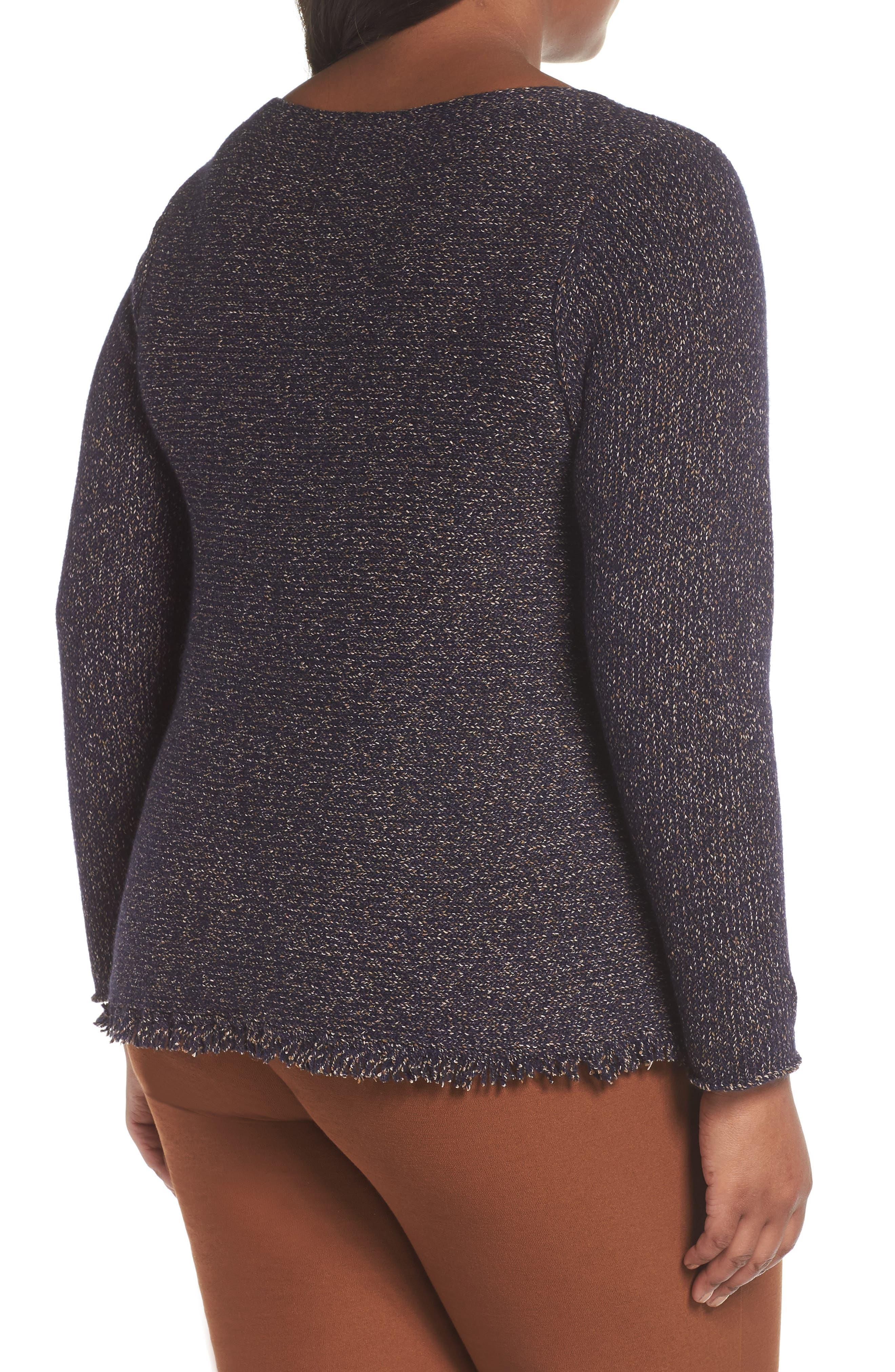 Fringe Hem Sweater,                             Alternate thumbnail 2, color,                             419