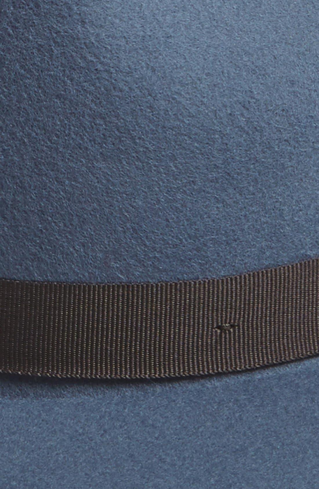 'Dalila' Floppy Felt Hat,                             Alternate thumbnail 10, color,