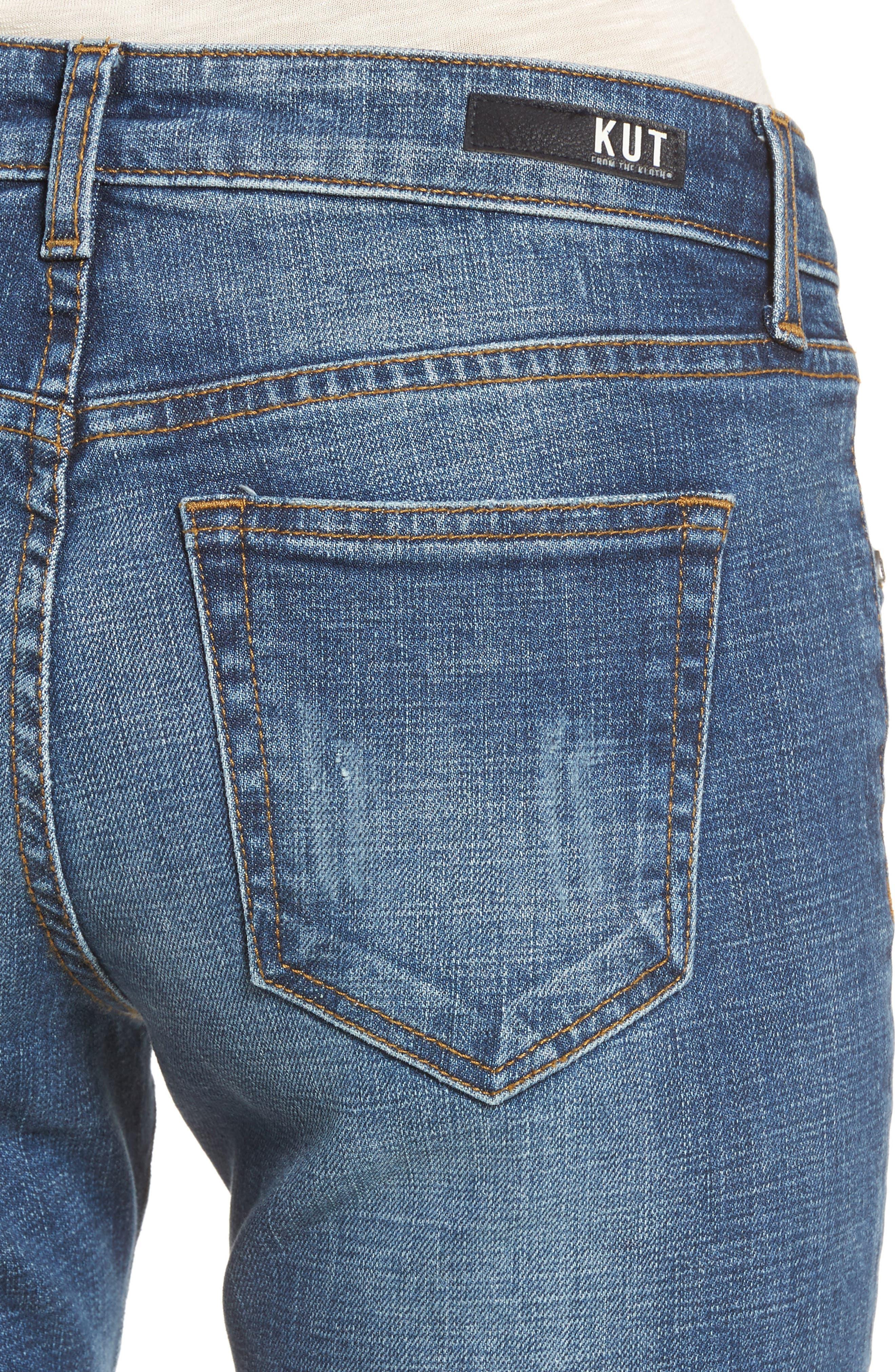 Uma Boyfriend Jeans,                             Alternate thumbnail 4, color,