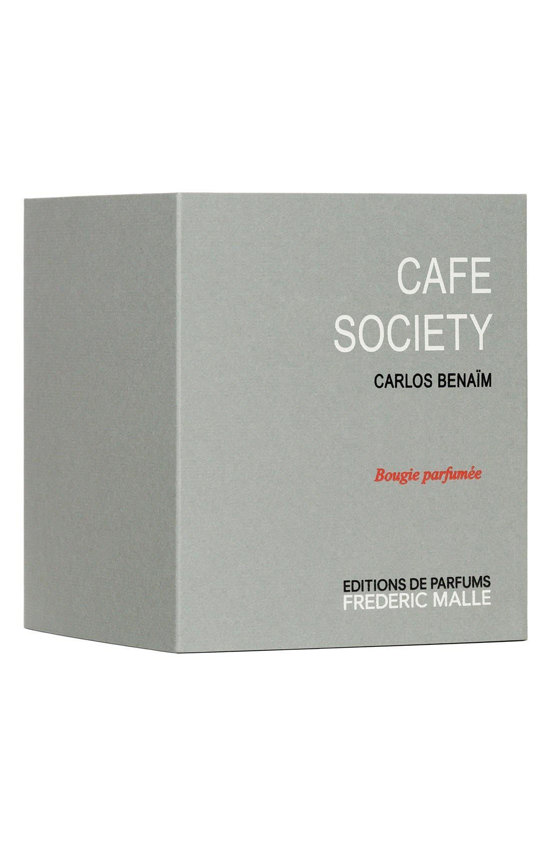 Editions de Parfums Frédéric Malle Café Society Candle,                             Alternate thumbnail 4, color,