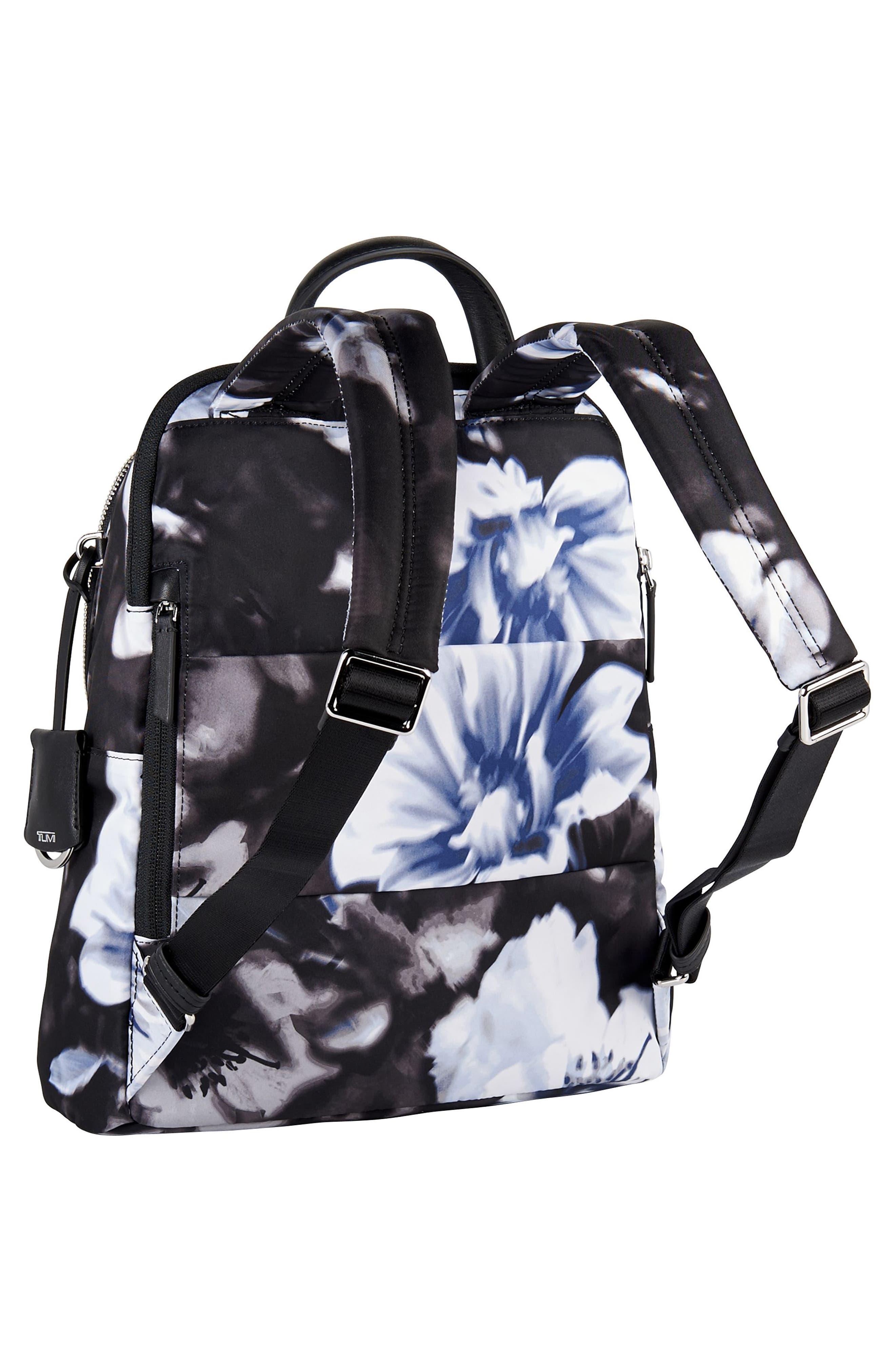 Voyageur - Dori Nylon Backpack,                             Alternate thumbnail 3, color,                             002