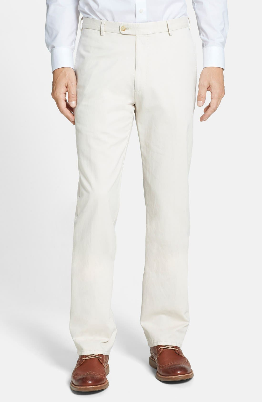 Garment Washed Twill Pants,                             Main thumbnail 7, color,