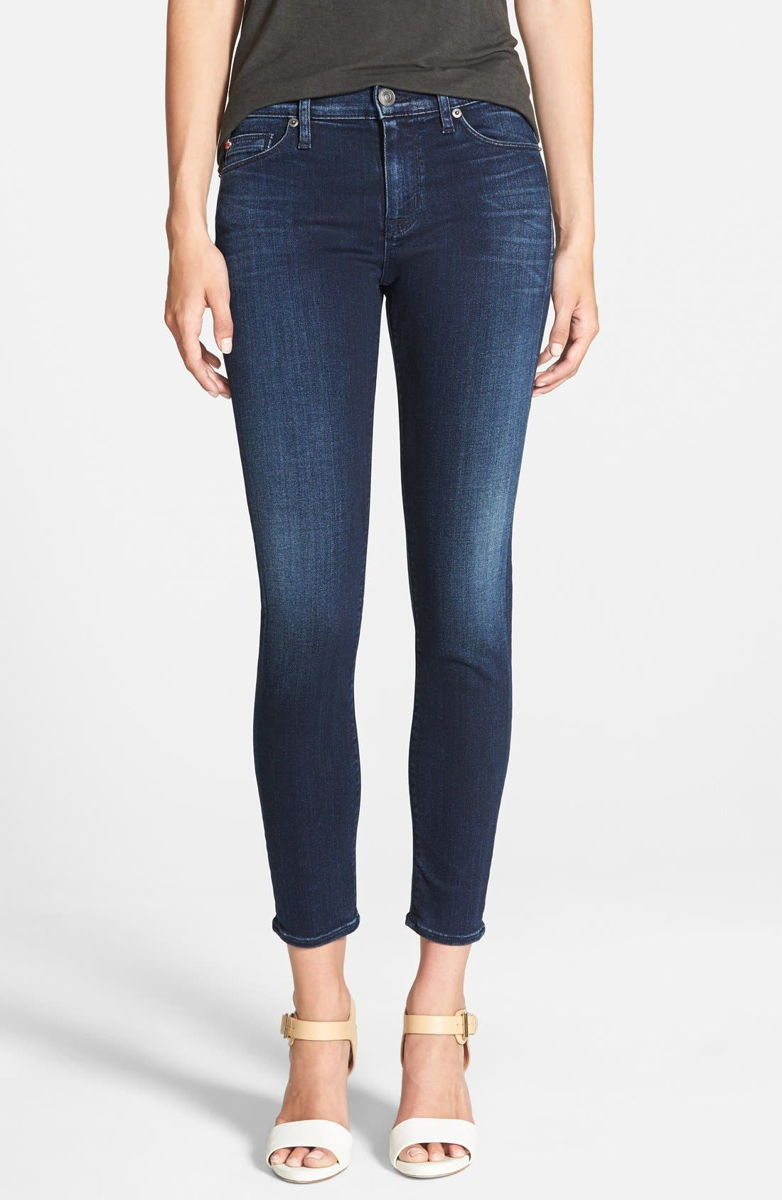 'Nico' Ankle Skinny Jeans,                             Main thumbnail 7, color,