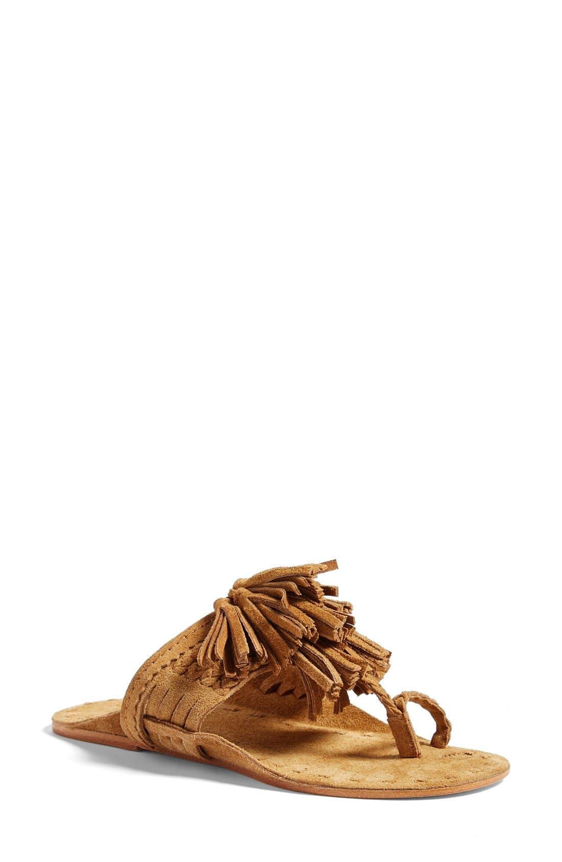 Scaramouch Tassel Sandal,                             Main thumbnail 1, color,                             200