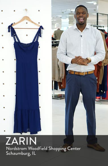 Nikita Floral Midi Dress, sales video thumbnail