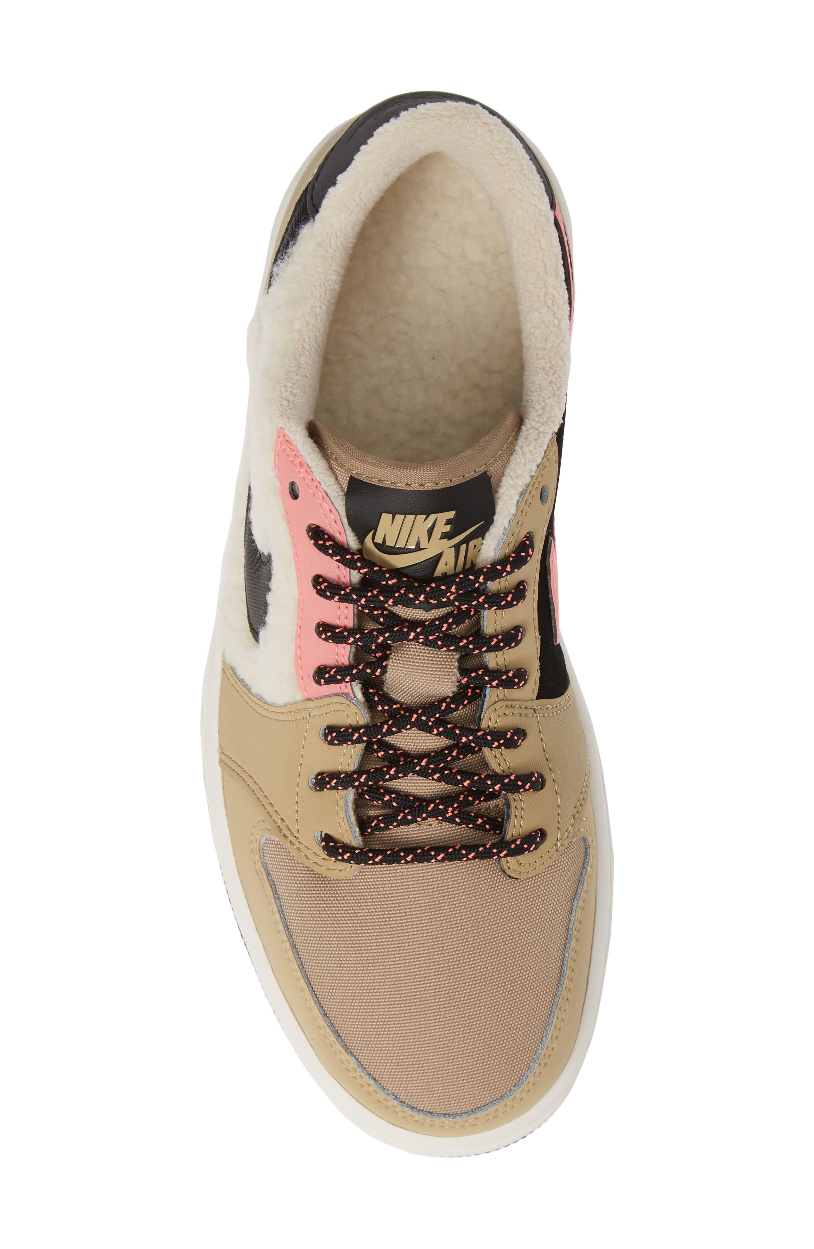 NIKE,                             Air Jordan 1 Retro Low OG Sneaker,                             Alternate thumbnail 5, color,                             200