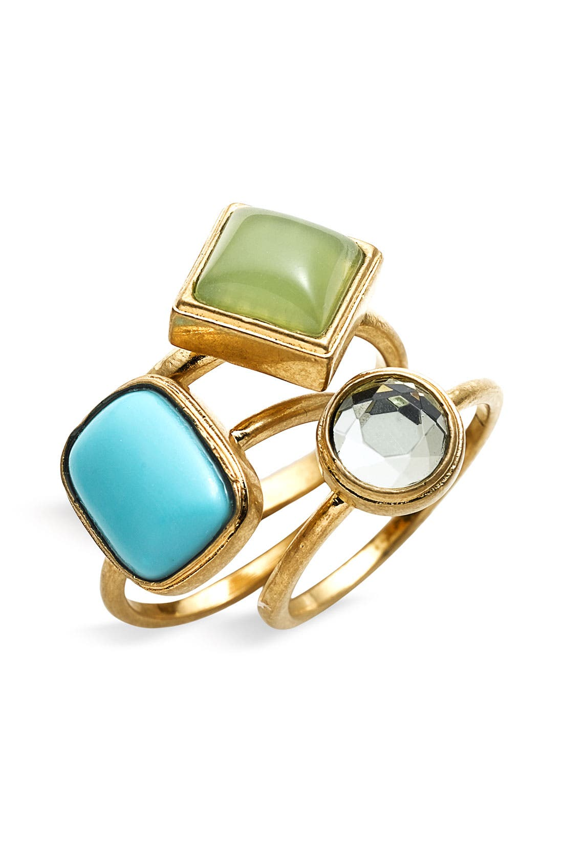 'Endless Summer' Stackable Rings, Main, color, 440