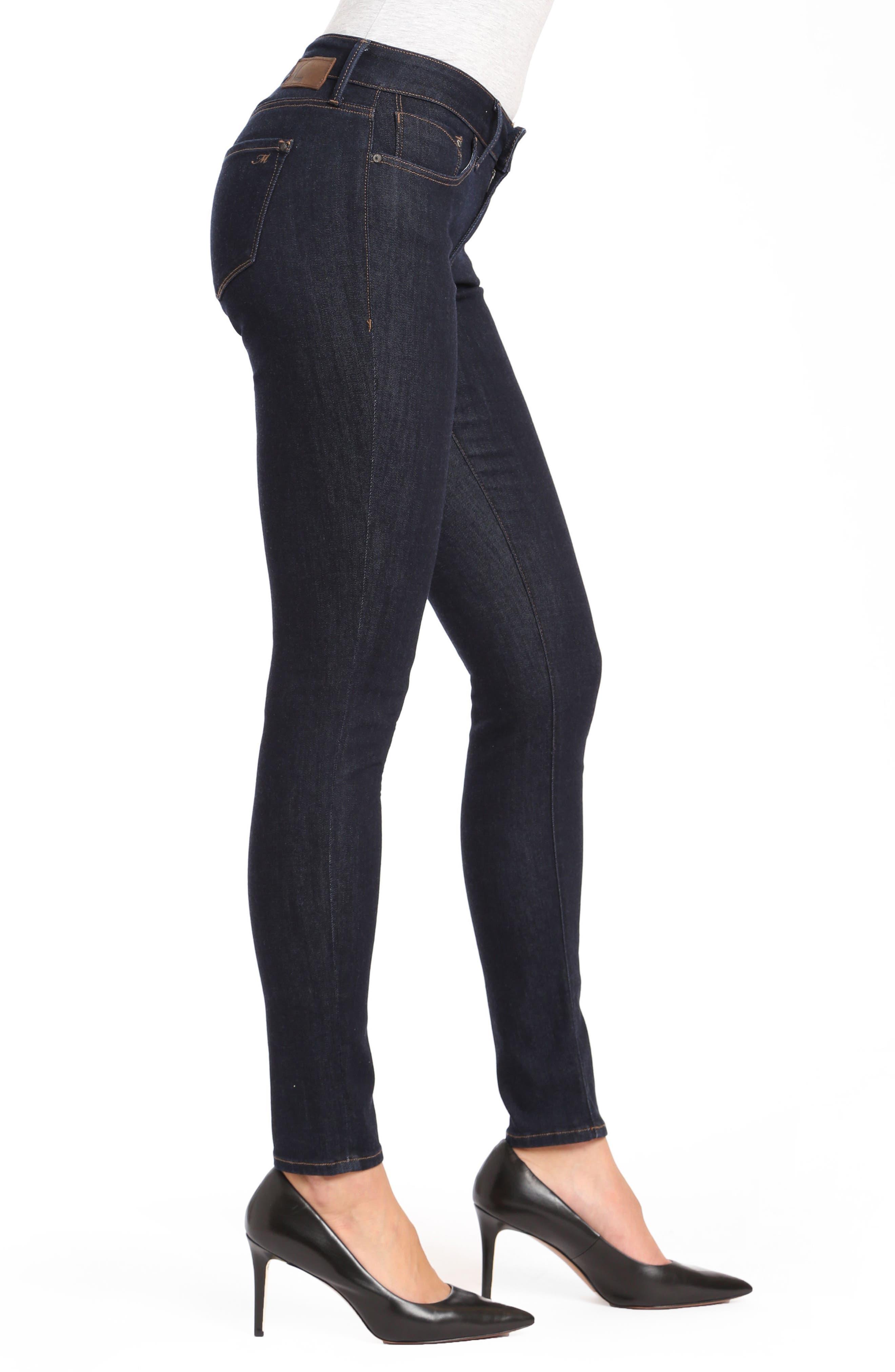 Mavi Alexa Supersoft Skinny Jeans,                             Alternate thumbnail 3, color,                             RINSE SUPER SOFT