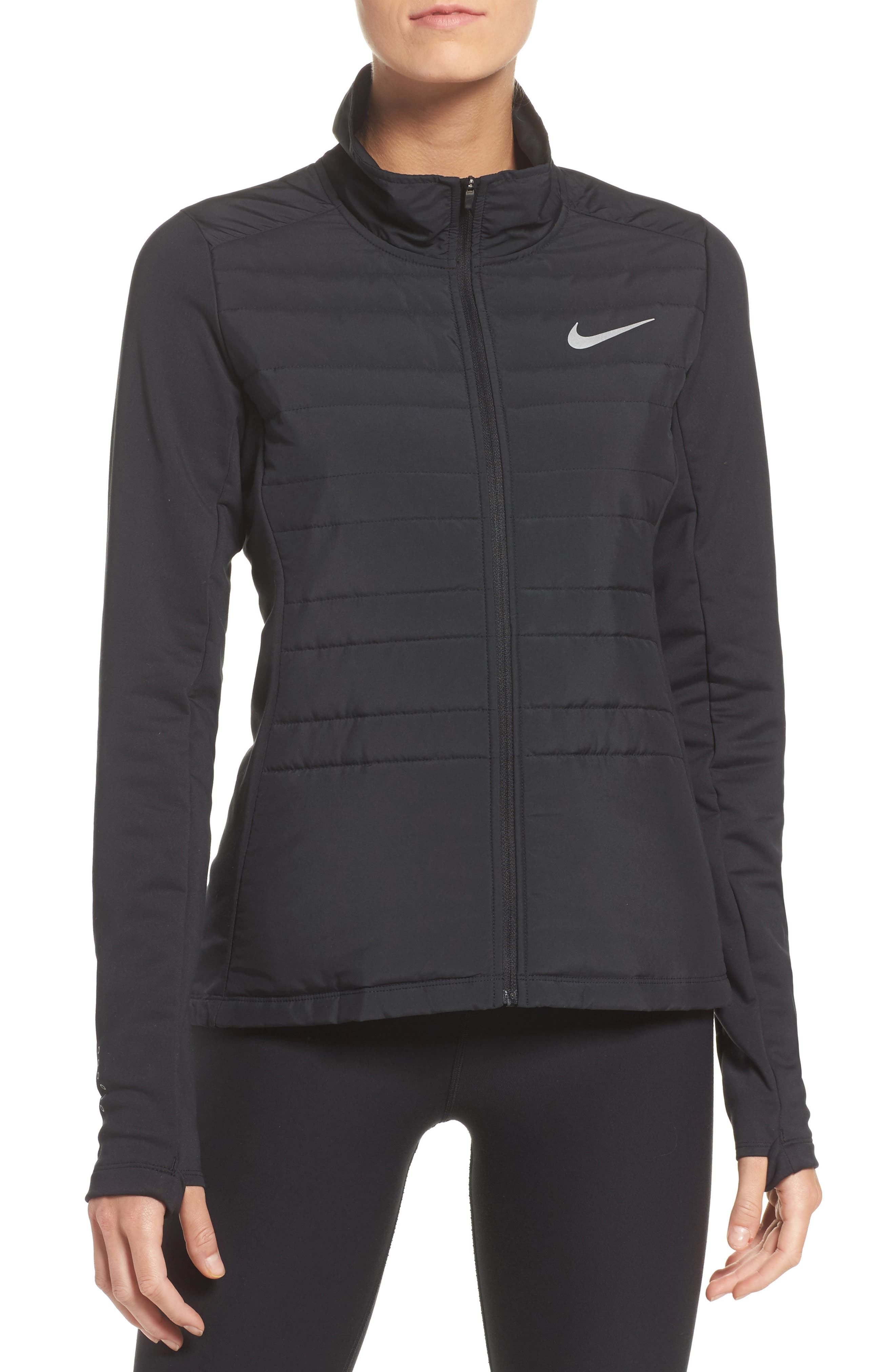 Essentials Running Jacket,                         Main,                         color, 010