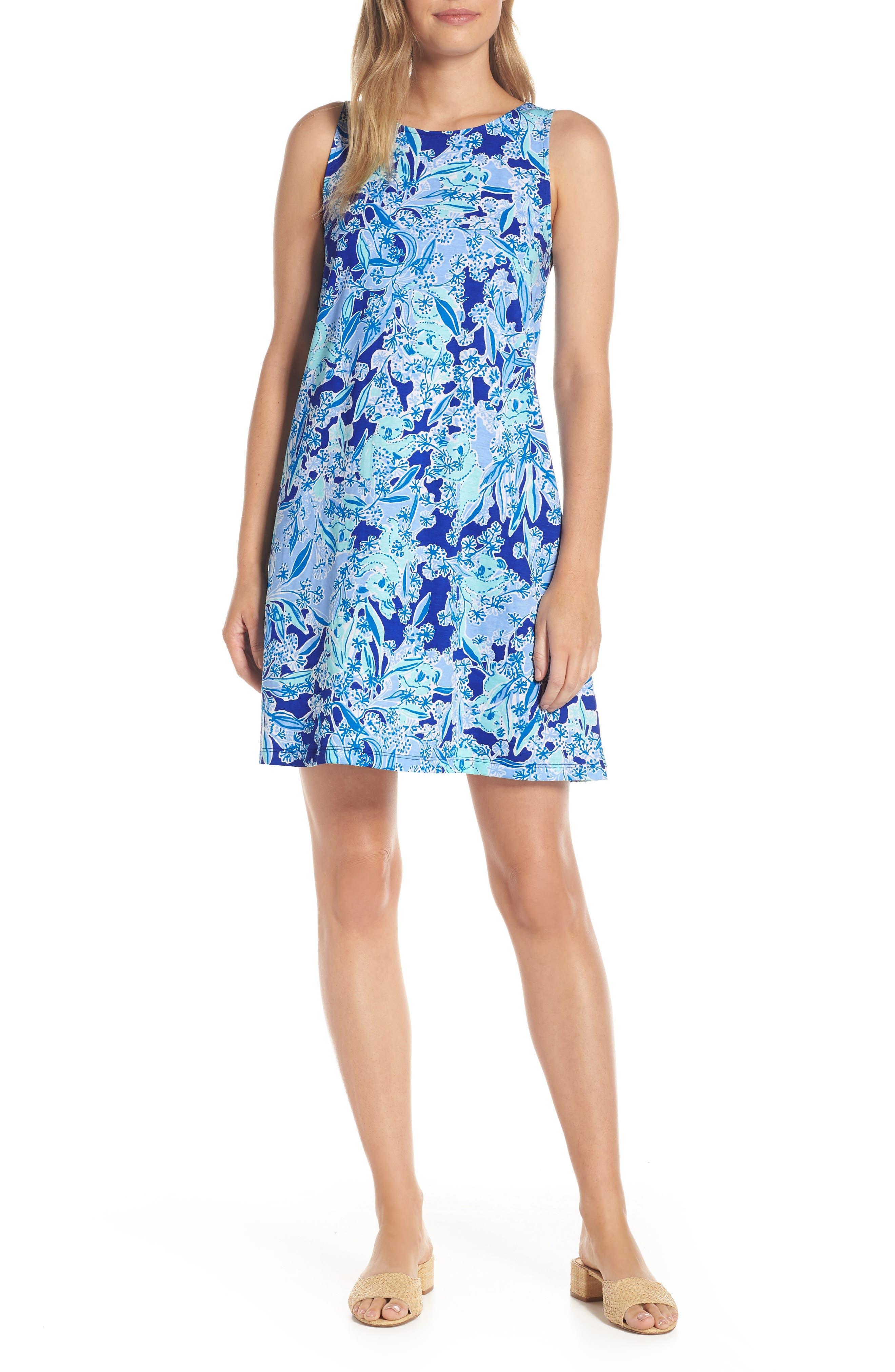 Lilly Pulitzer Kristen Trapeze Dress, Purple