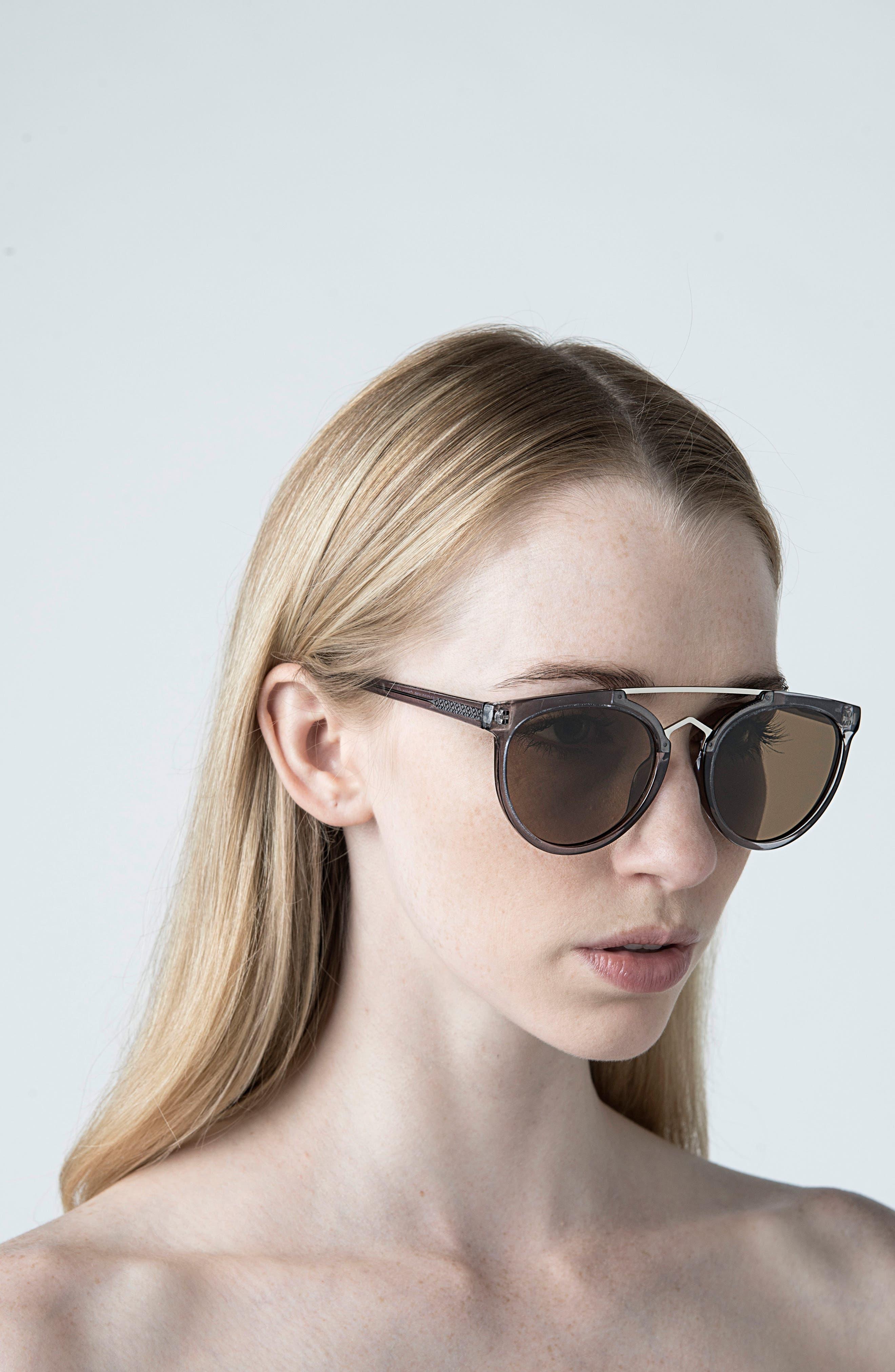 Rose 53mm Retro Sunglasses,                             Alternate thumbnail 10, color,