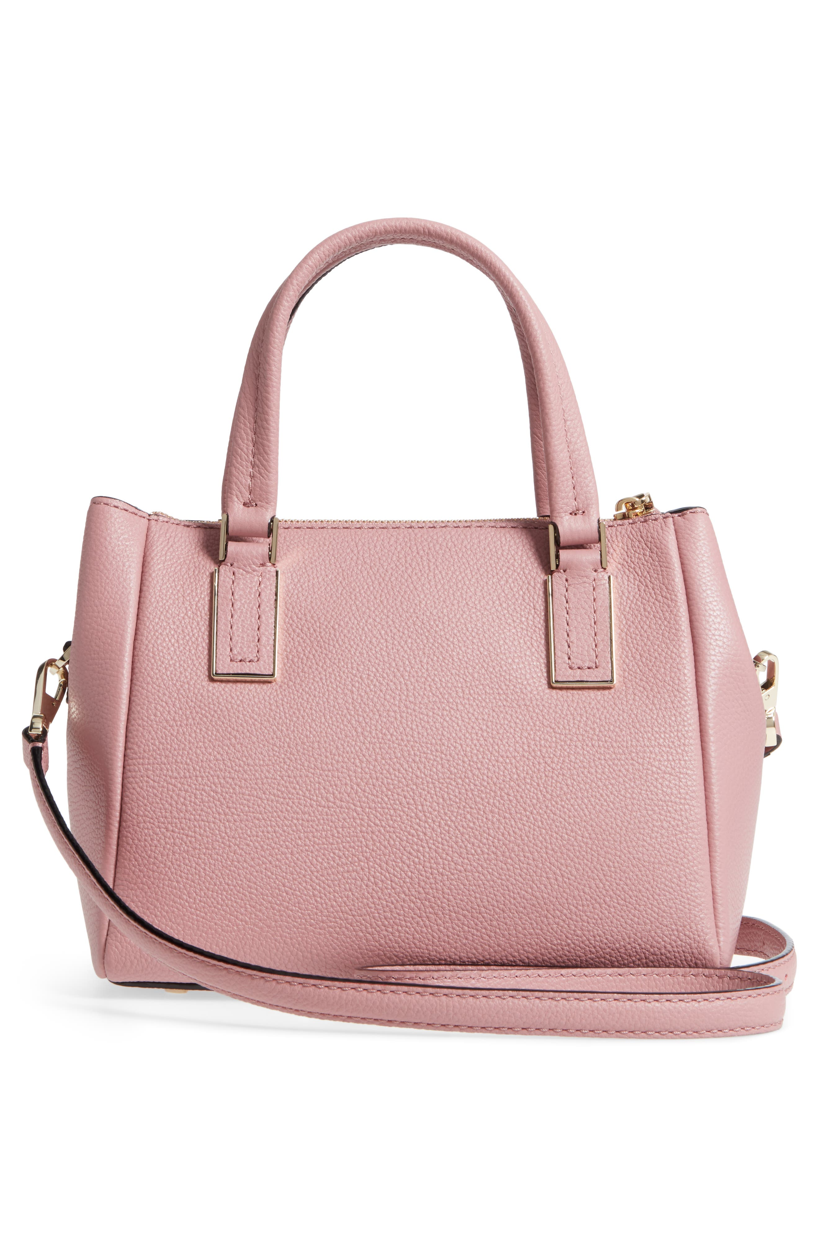 kingston drive - small alena leather satchel,                             Alternate thumbnail 15, color,