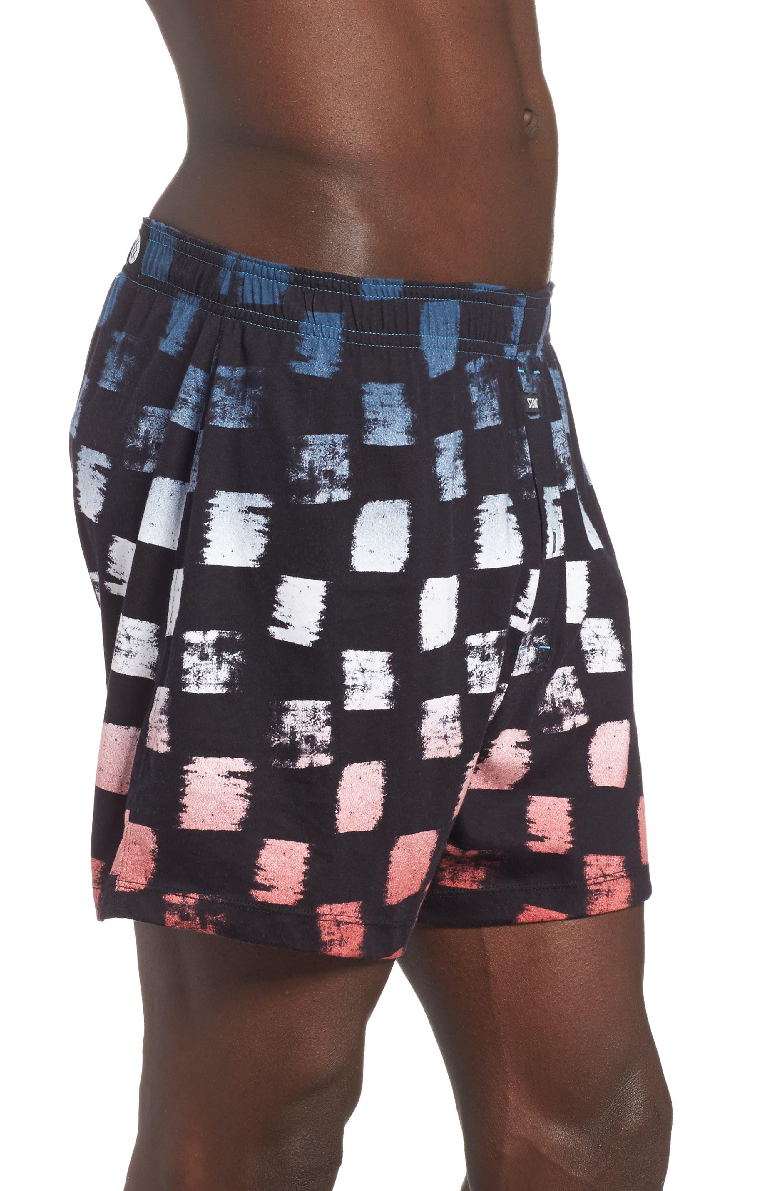 Checker Fader Boxer Shorts,                             Alternate thumbnail 6, color,
