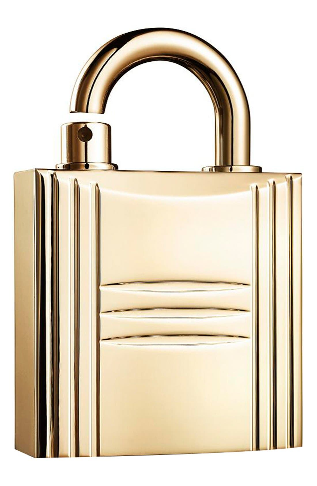 Pure perfume refillable lock spray gold,                         Main,                         color, NO COLOR