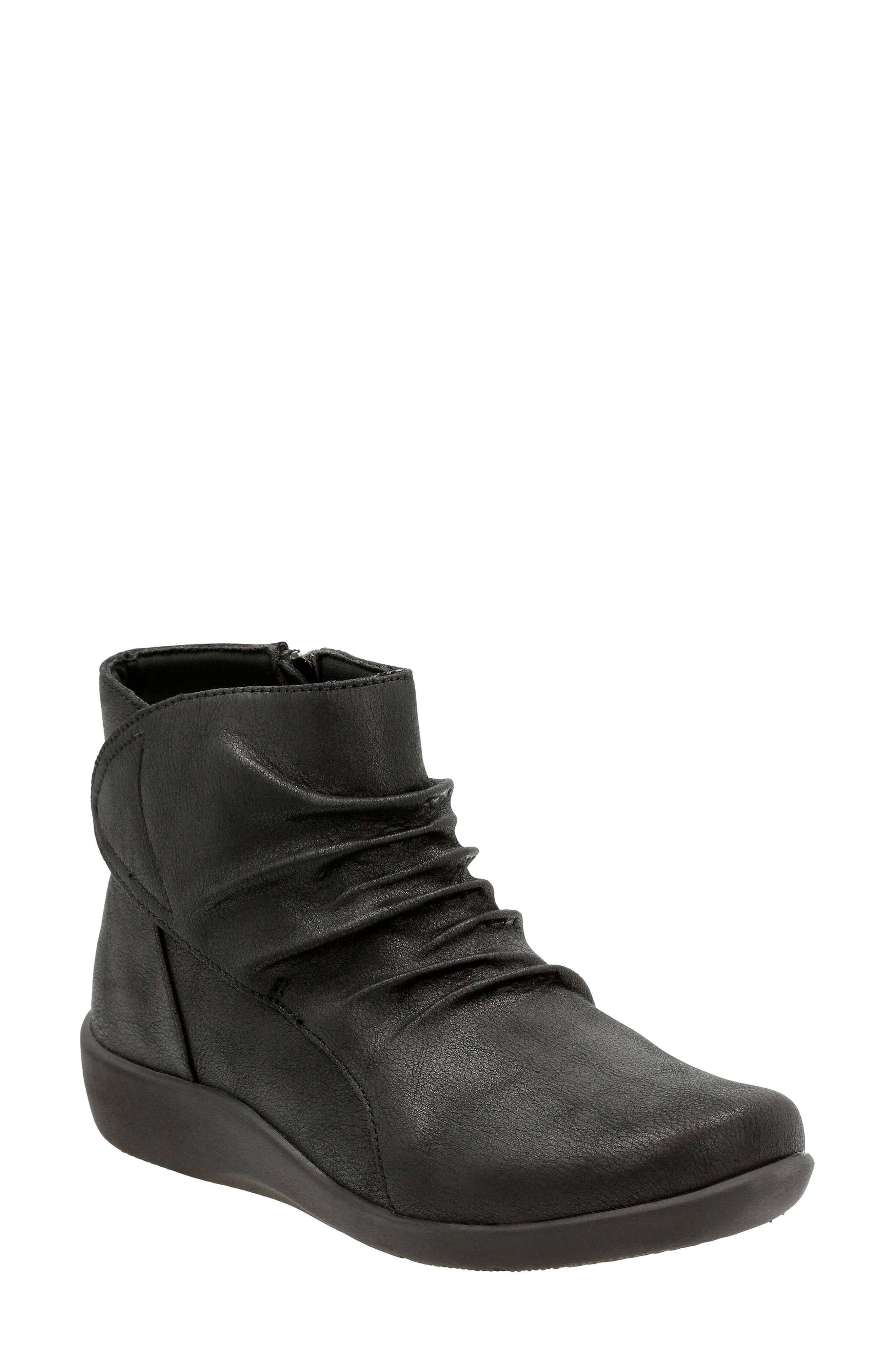 CLARKS<SUP>®</SUP>,                             'Sillian Chell' Boot,                             Main thumbnail 1, color,                             005
