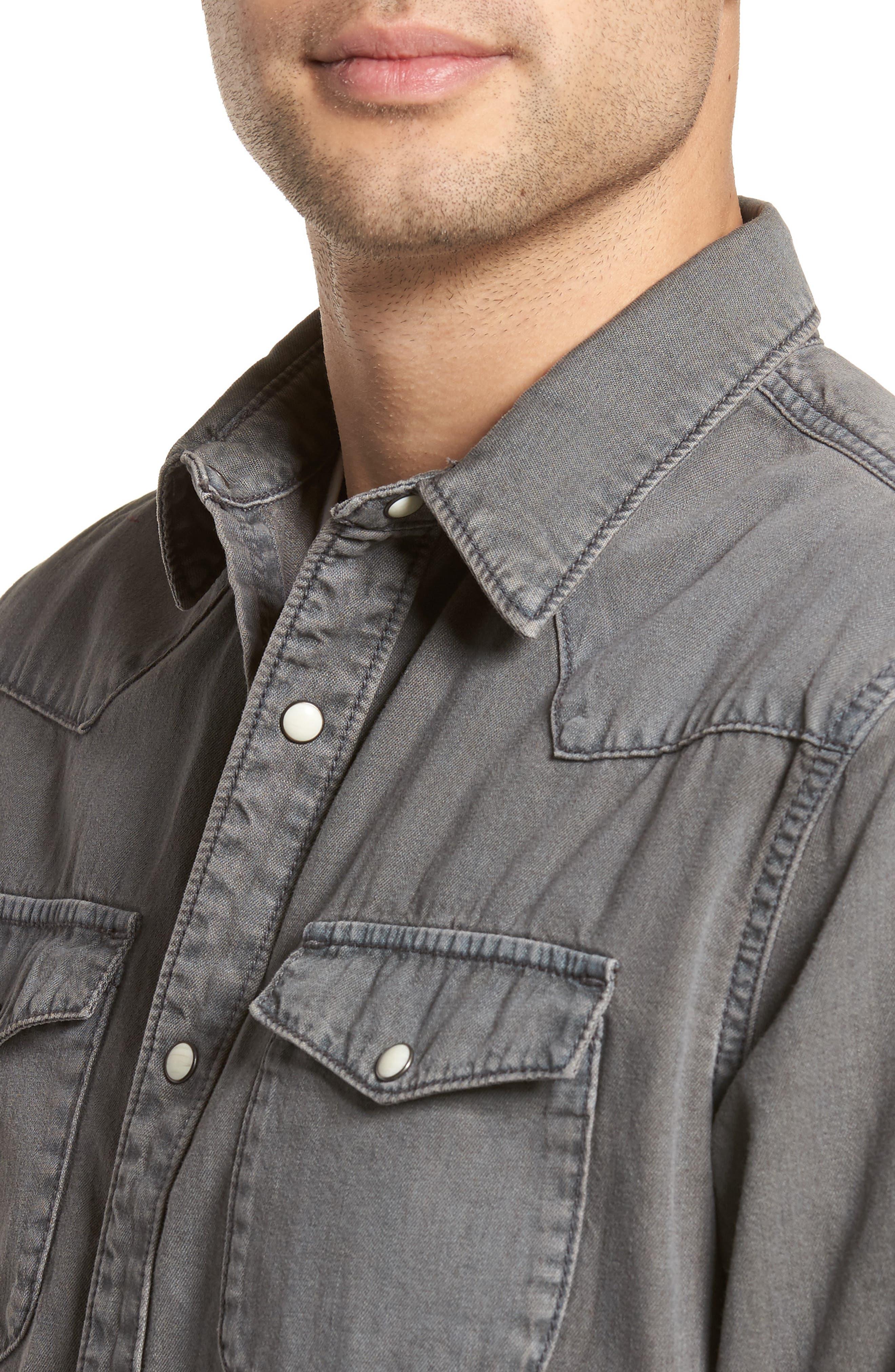 Core Western Shirt,                             Alternate thumbnail 4, color,                             050