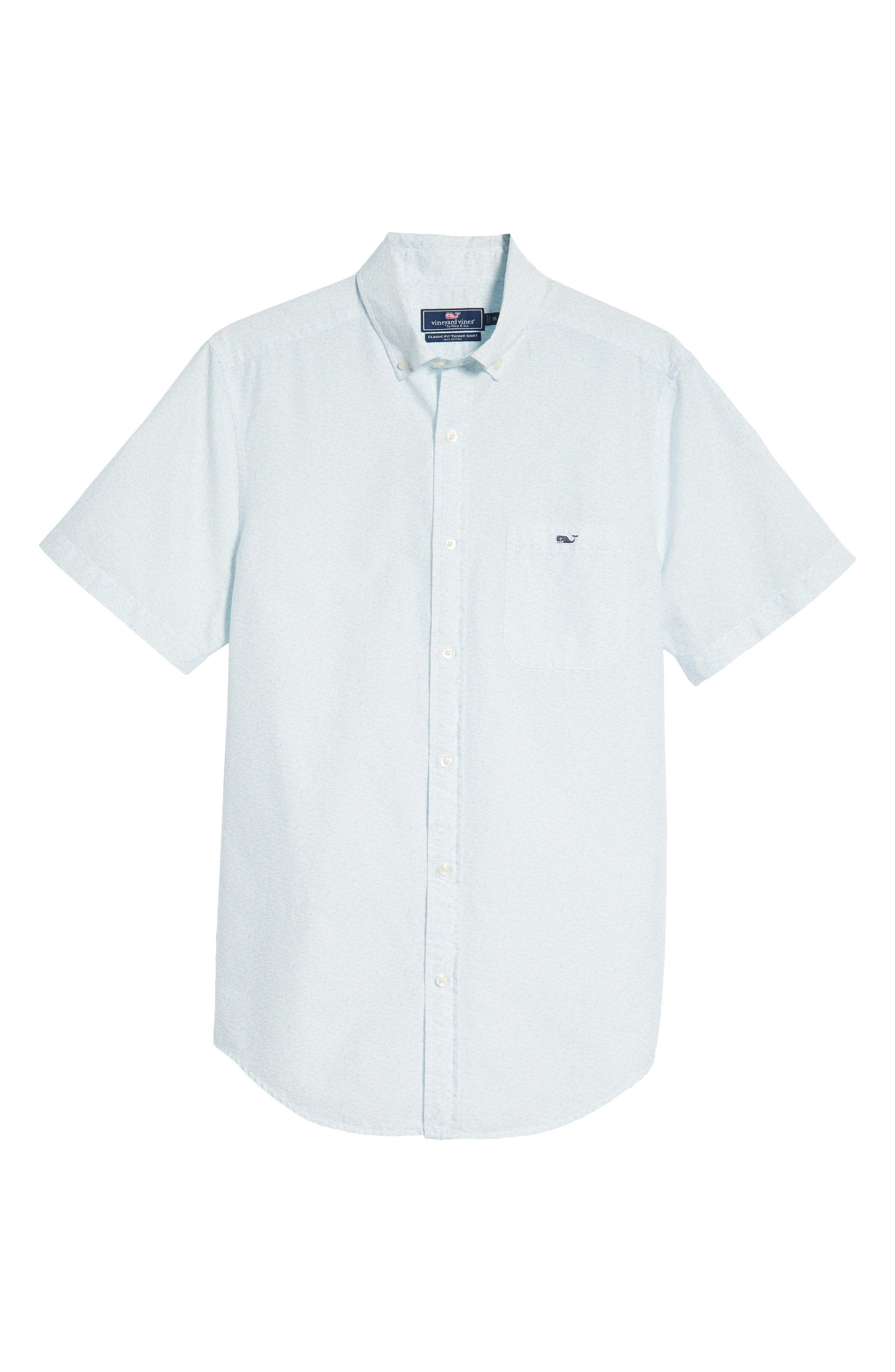 Cape Codder Slim Tucker Sport Shirt,                             Alternate thumbnail 6, color,                             100