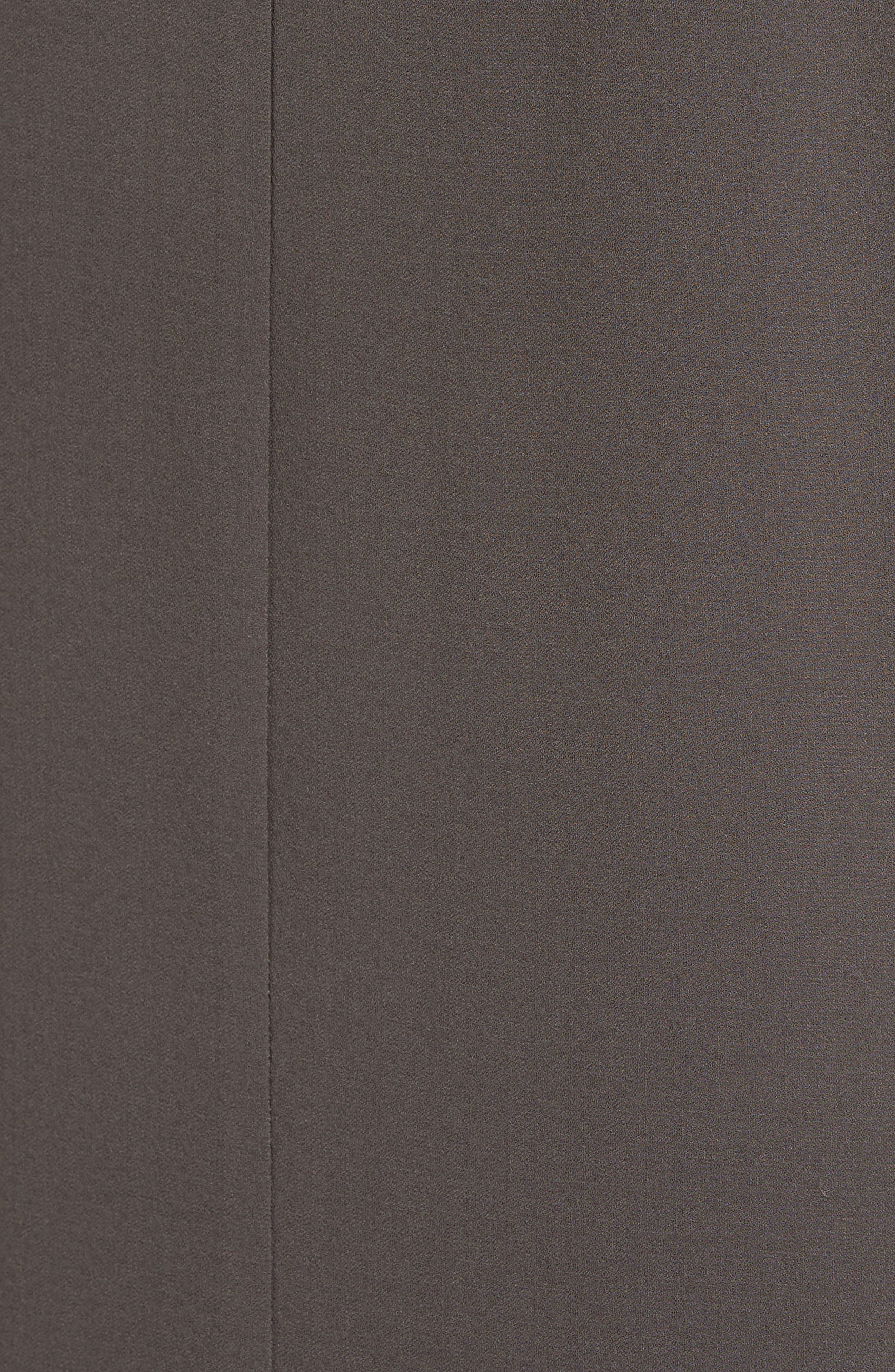 Silk Crepe High Neck Sleeveless Blouse,                             Alternate thumbnail 30, color,
