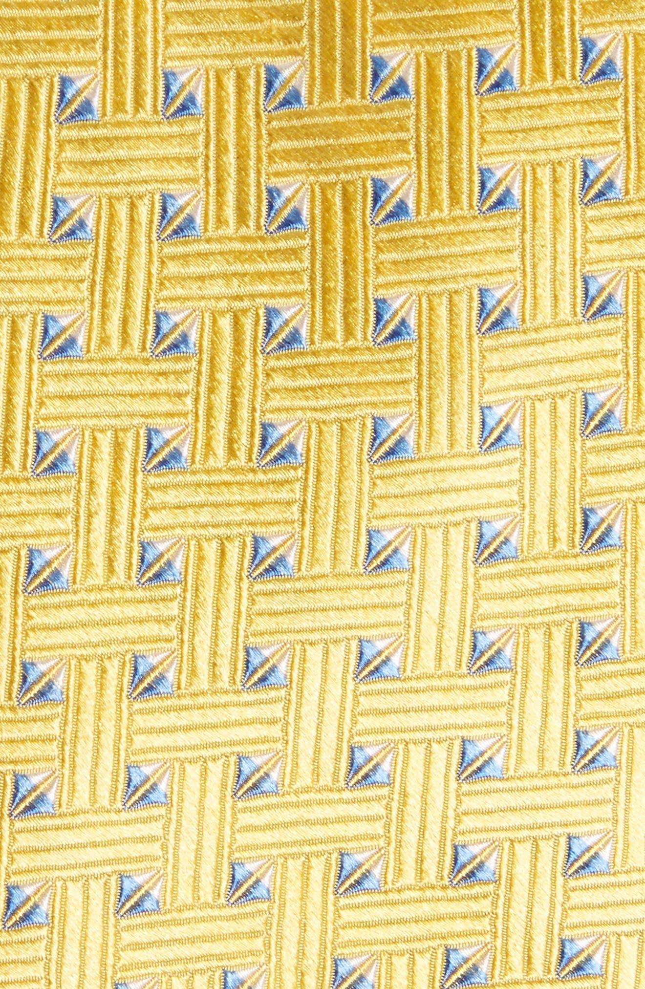 Geometric Silk Tie,                             Alternate thumbnail 13, color,
