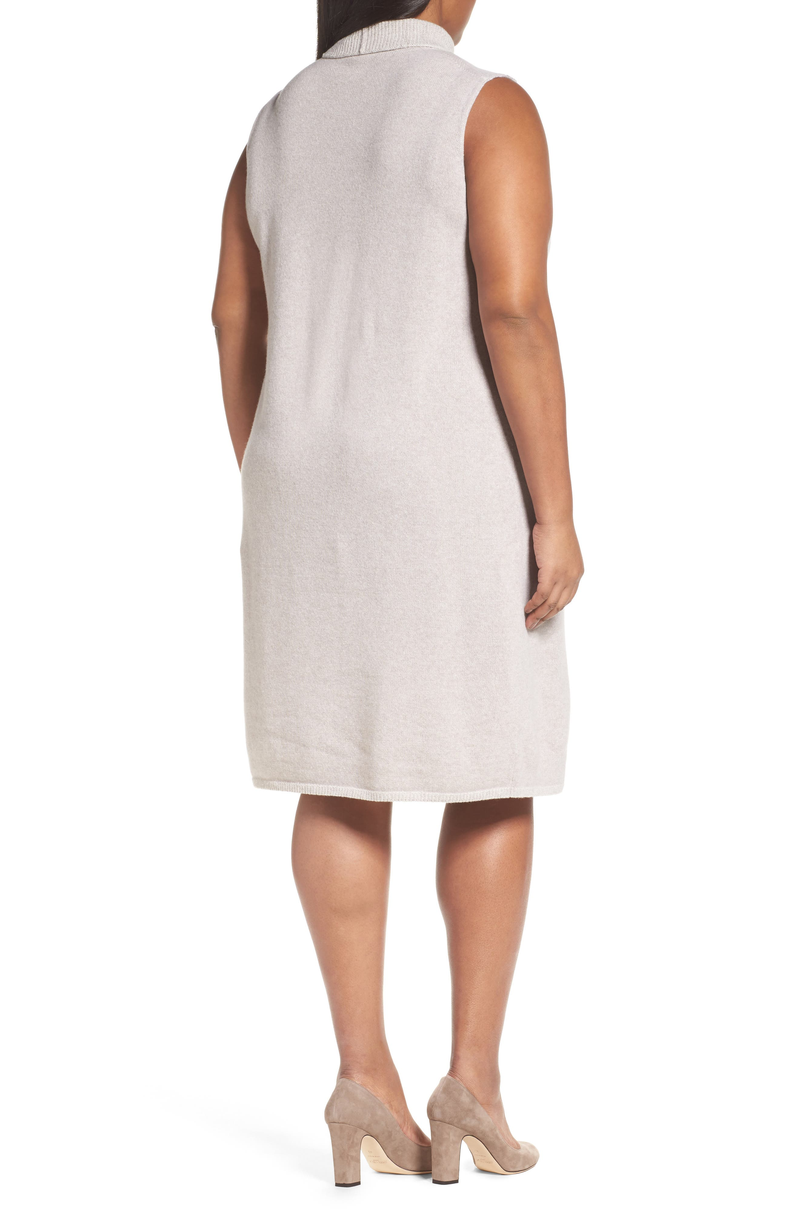 Vanise Merino Wool & Cashmere Sweater Dress,                             Alternate thumbnail 2, color,                             264