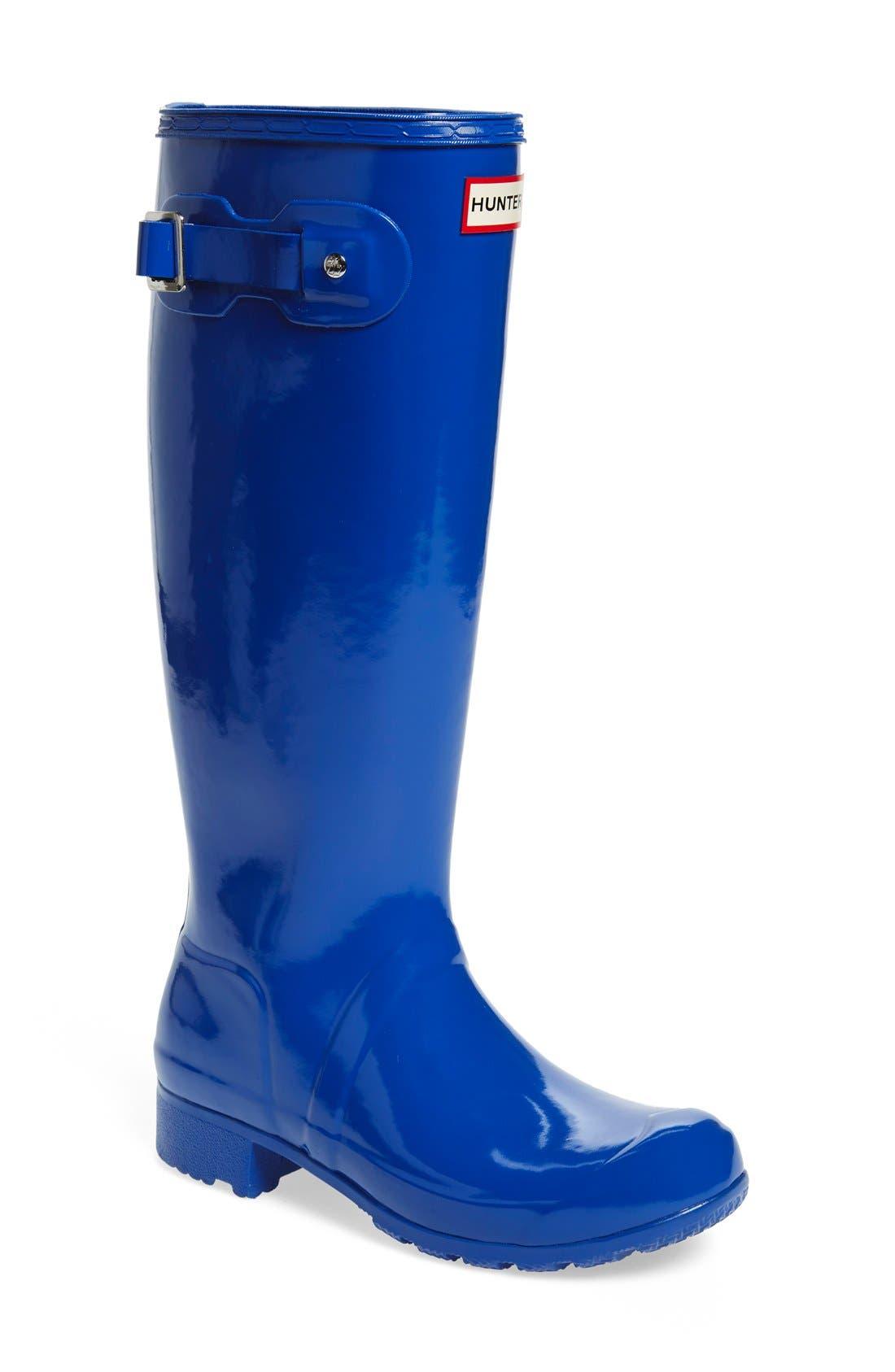 Original Tour Gloss Packable Rain Boot,                             Main thumbnail 7, color,