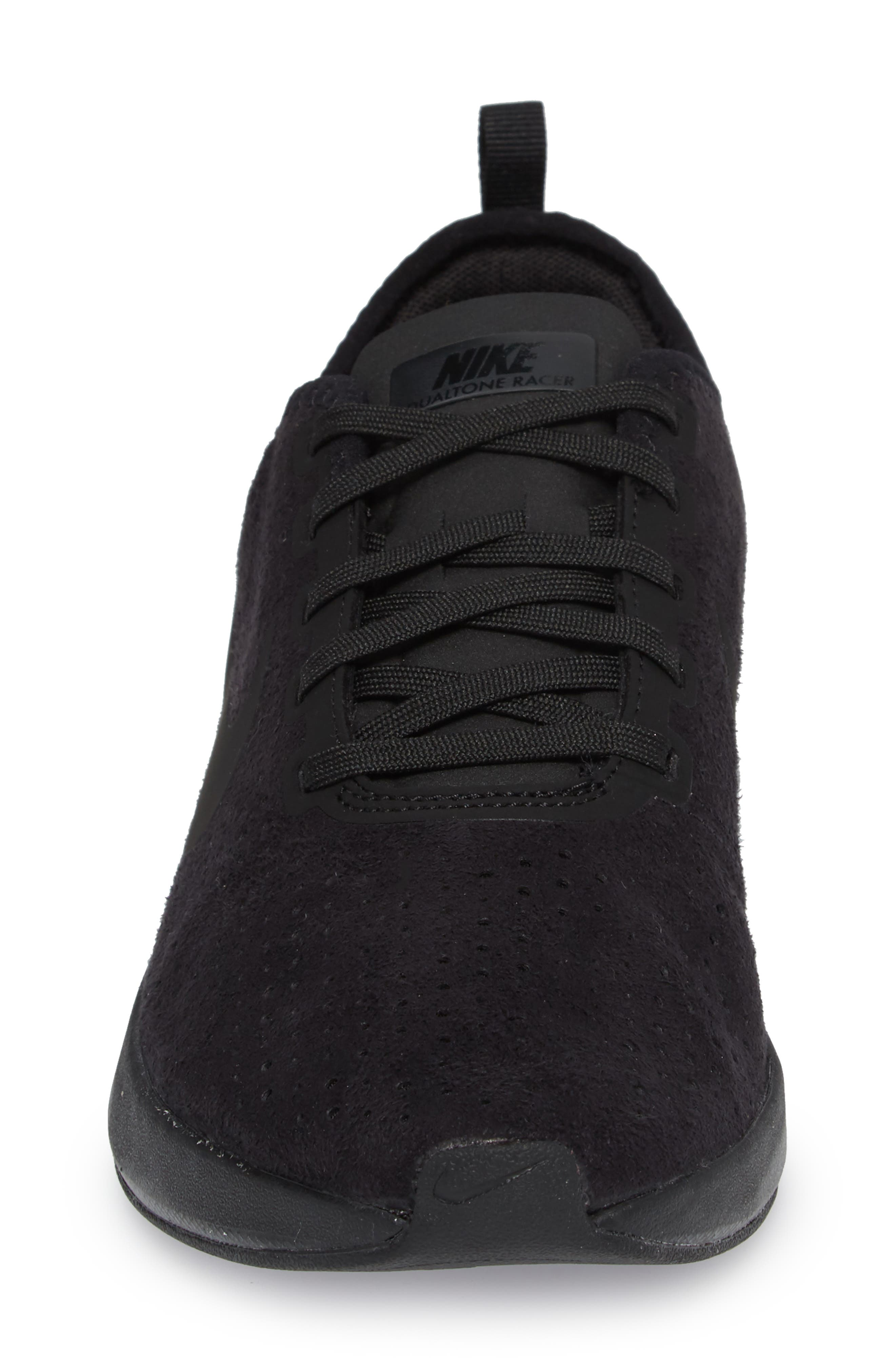 Dualtone Racer Premium Sneaker,                             Alternate thumbnail 4, color,                             004
